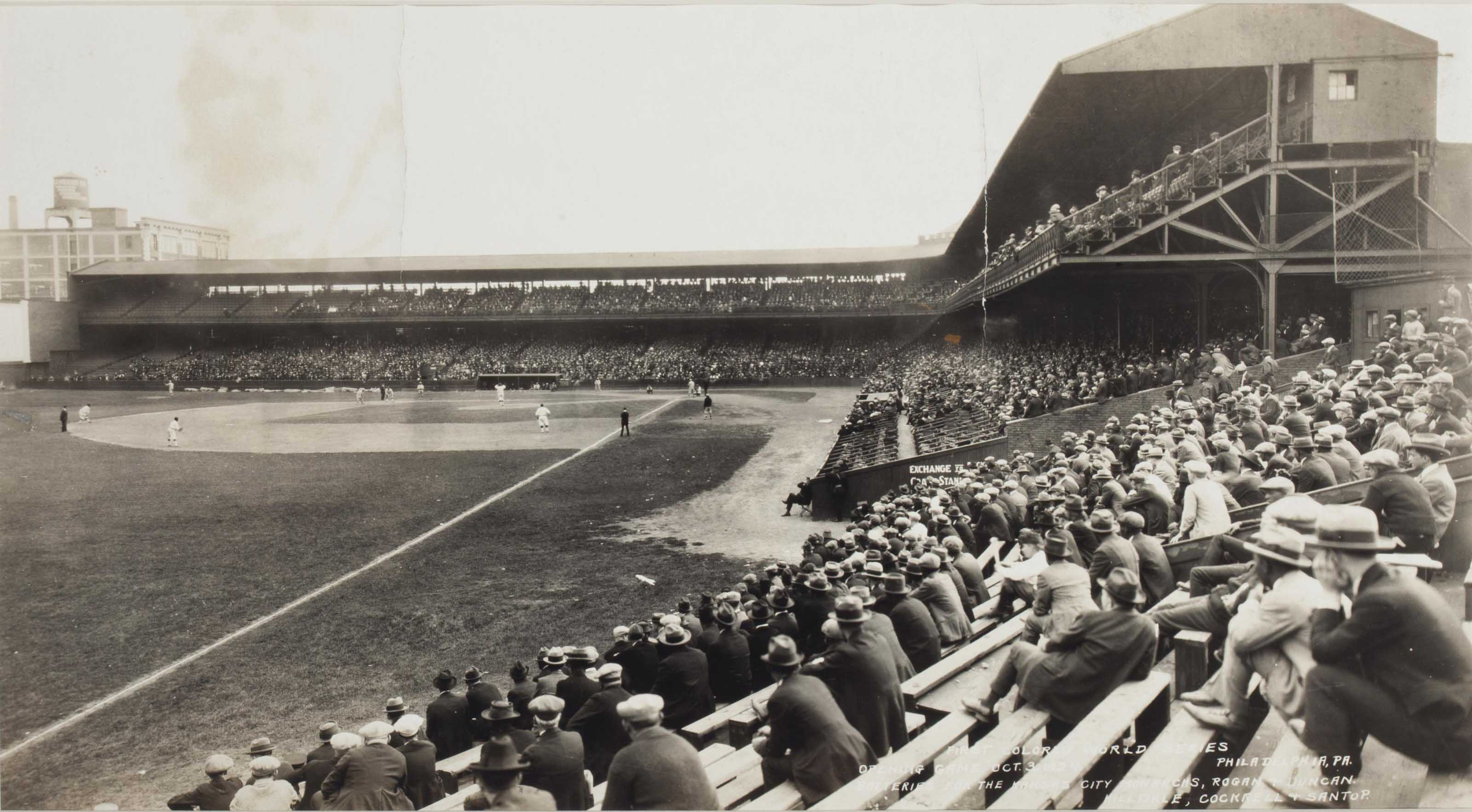 1924 COLORED WORLD SERIES PANO