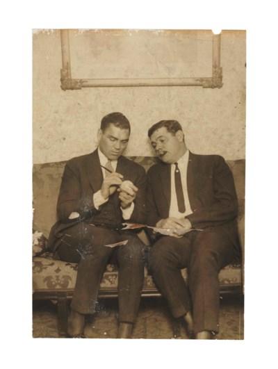 BABE RUTH & JACK DEMPSEY PHOTO