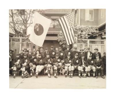 1934 TOUR OF JAPAN PHOTOGRAPH