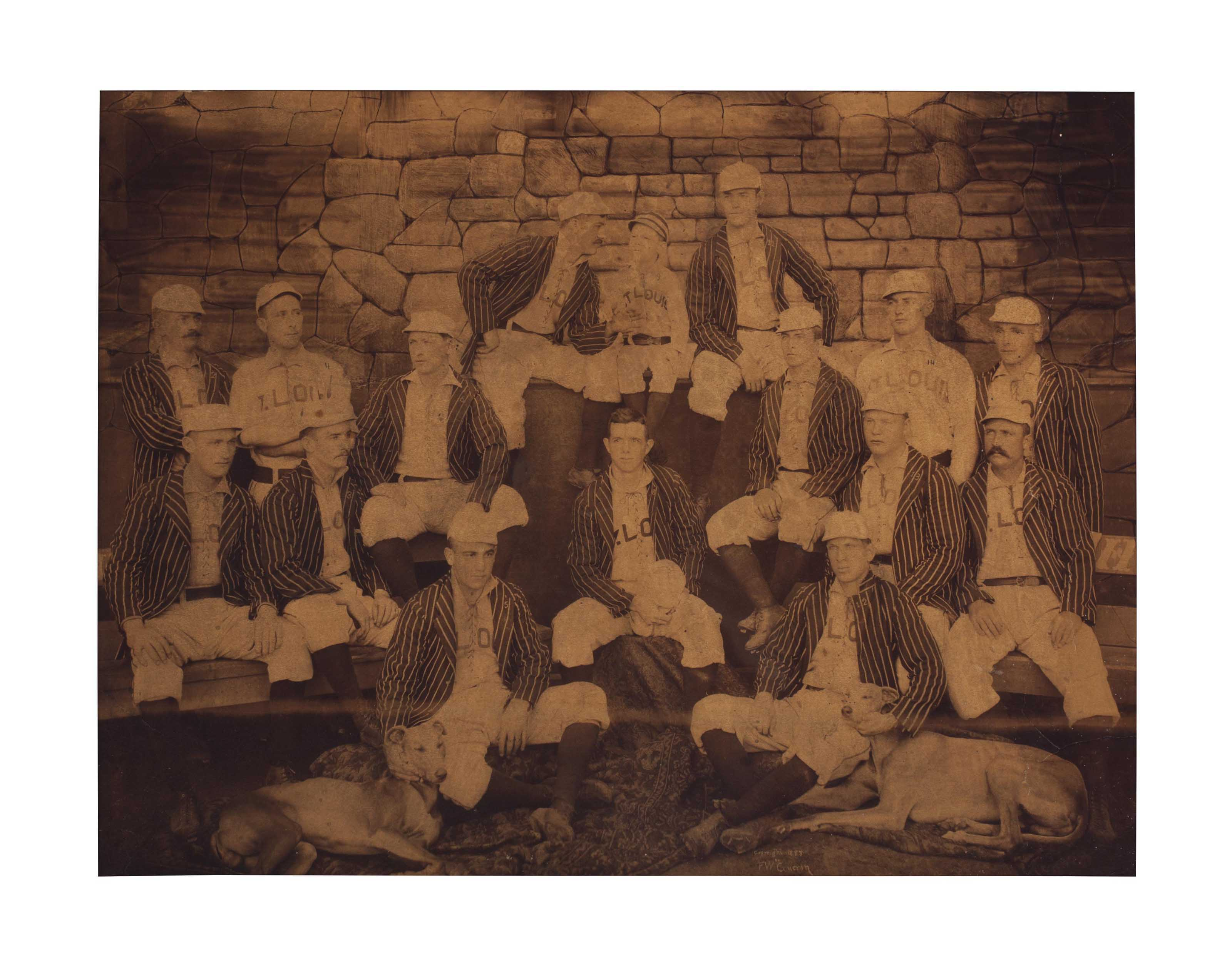 1888 ST. LOUIS BROWNS LARGE FO