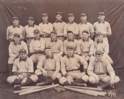 1901 PITTSBURGH PIRATES TEAM P