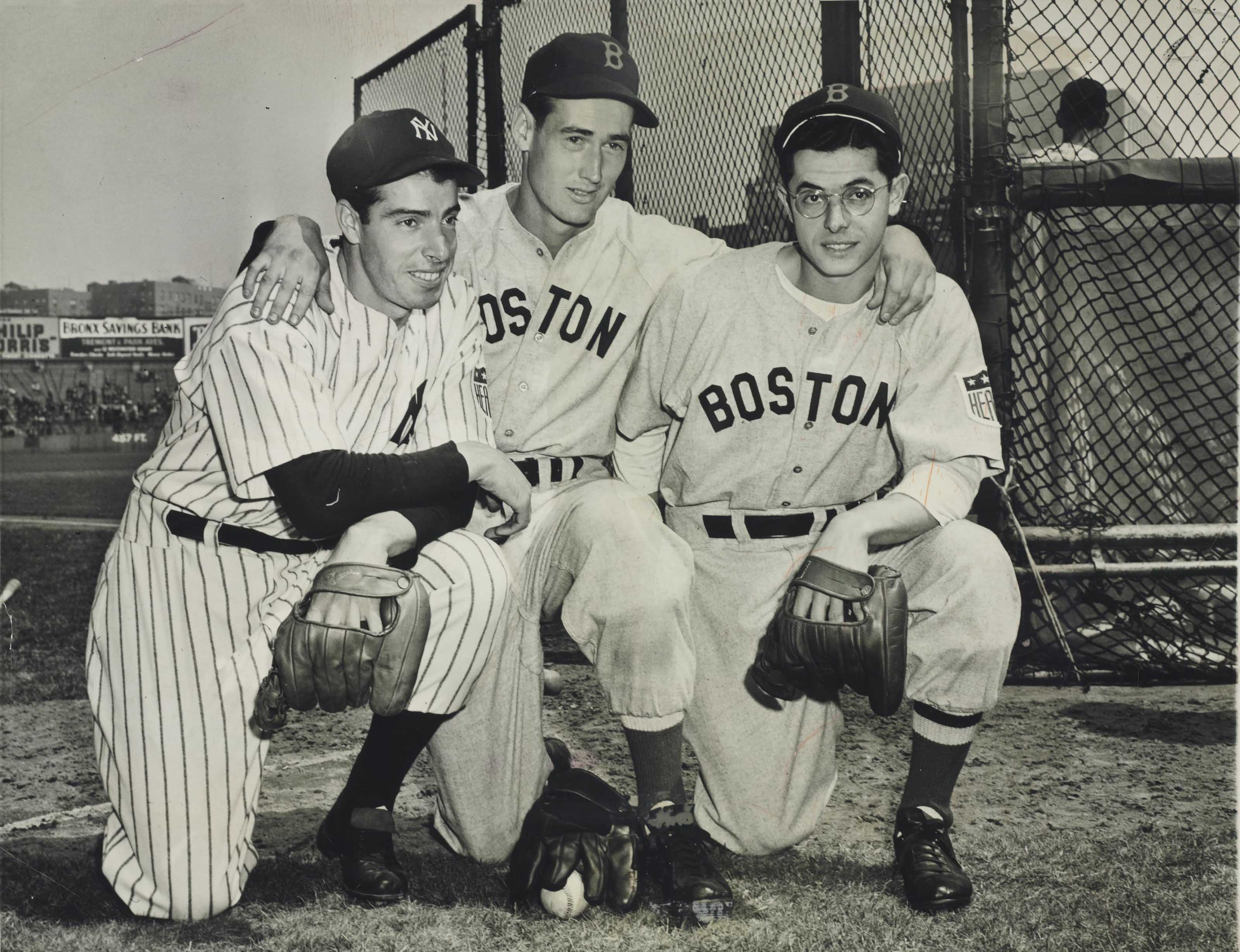 TED WILLIAMS & DIMAGGIO BROTHE