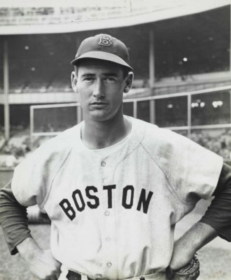 TED WILLIAMS PHOTOGRAPH