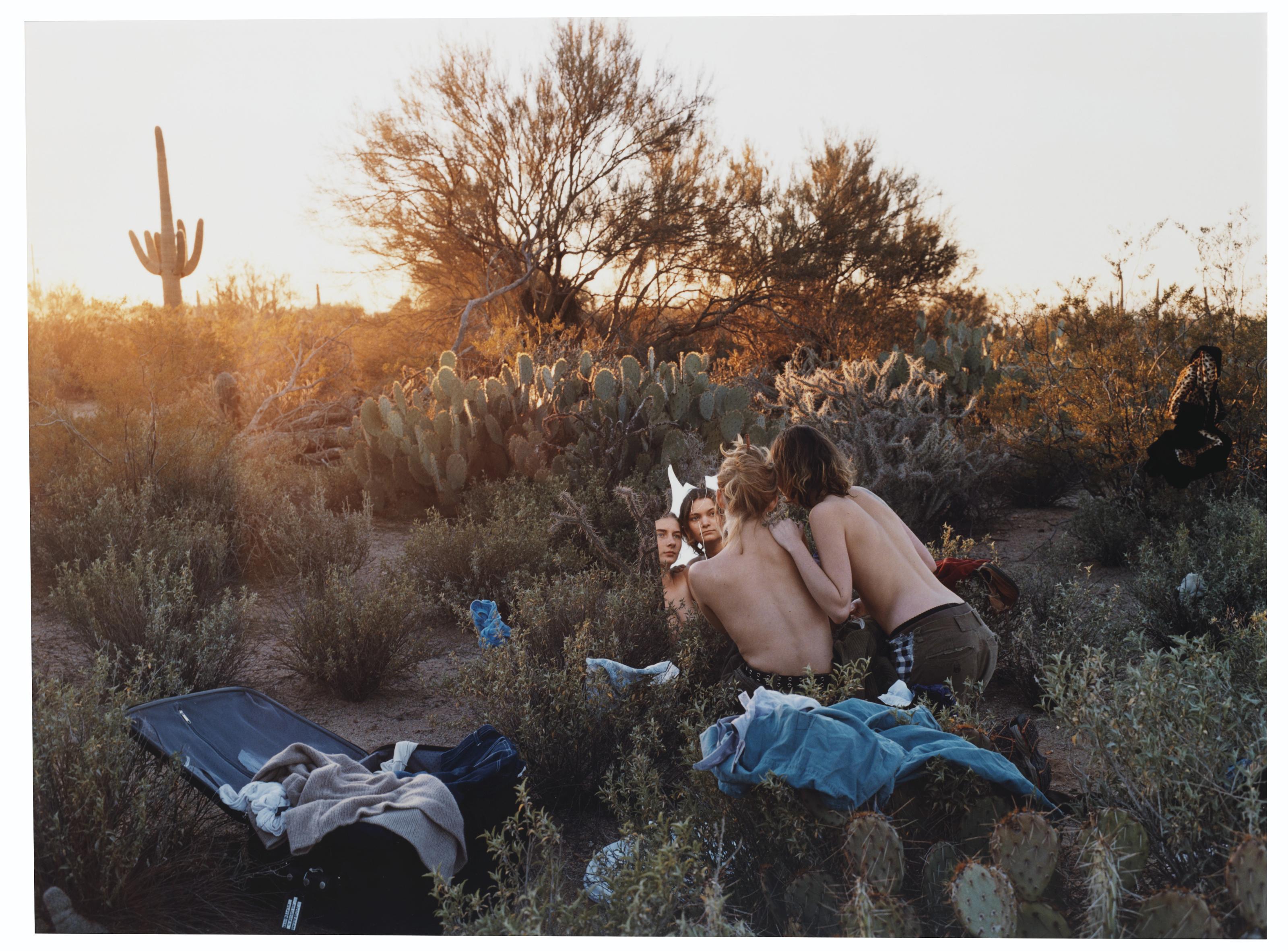 Clothes Make the Man, Desert Scene, Sonoma Desert, Arizona, 2001