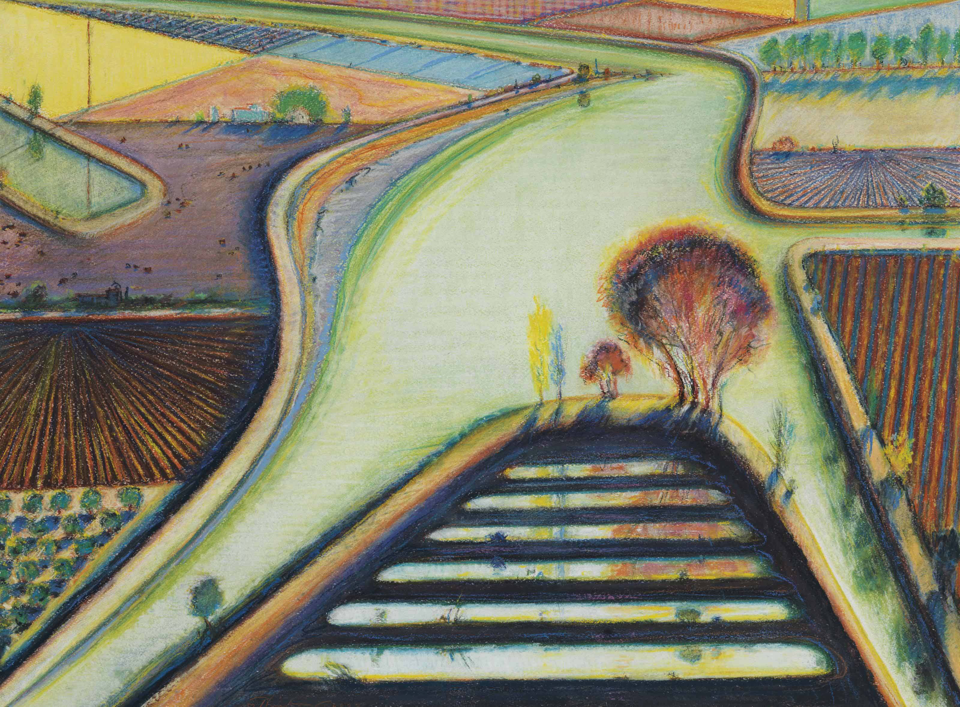 thiebaud essay A slice of life at 97 years of age, he is unequivocally one of the world's greatest living artists but back in 1959, wayne thiebaud was still trying to find his way as a young college professor at uc davis.
