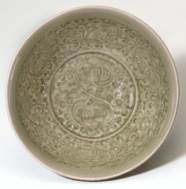 A MOLDED YAOZHOU DEEP BOWL
