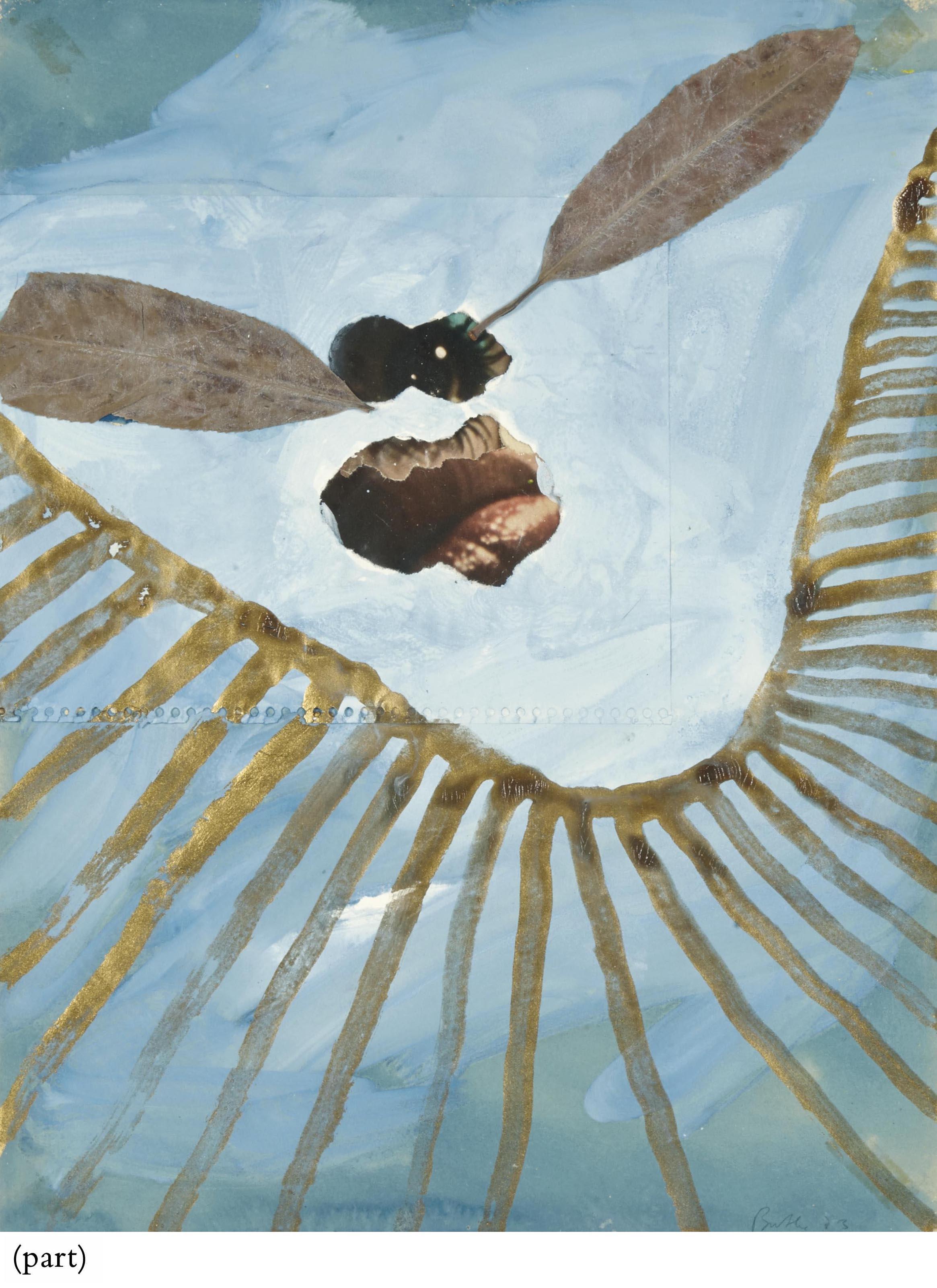 """Un ensemble de deux oeuvres sur papier de la série """"Bénin afrika"""""""