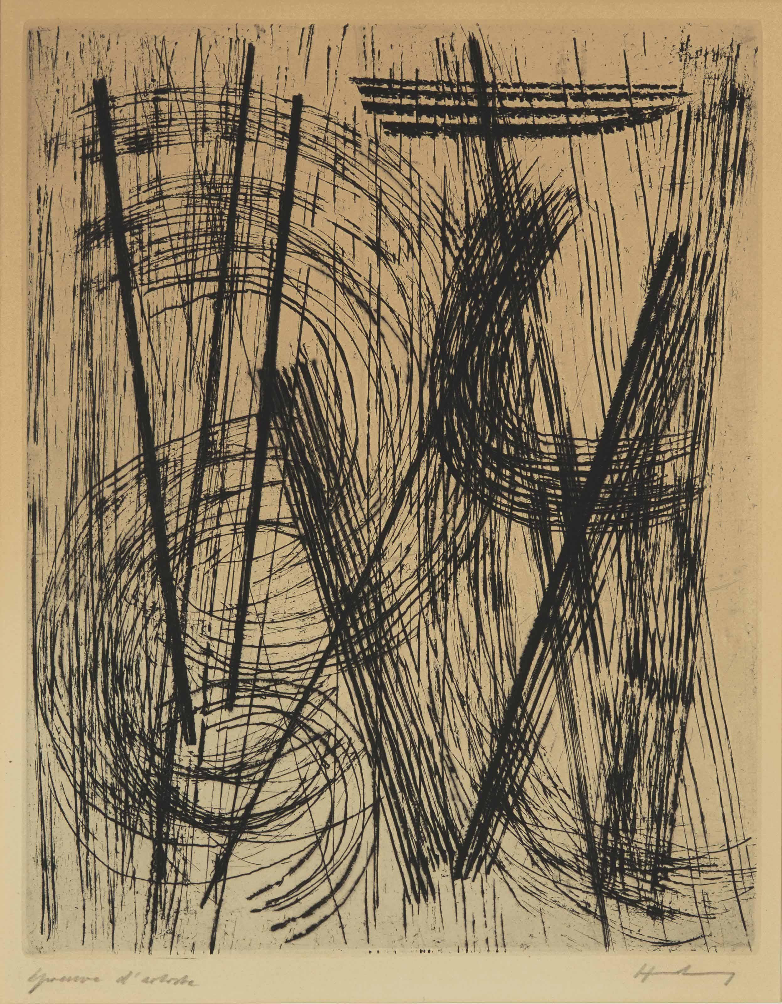 HANS HARTUNG (LEIPZIG 1904-ANT