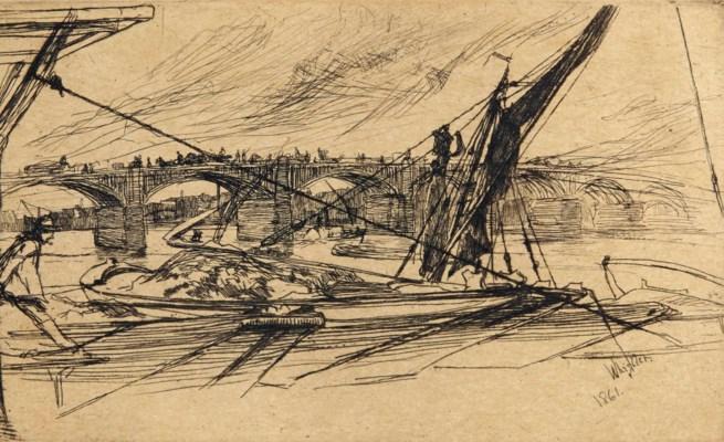 JAMES WHISTLER (1834-1903)