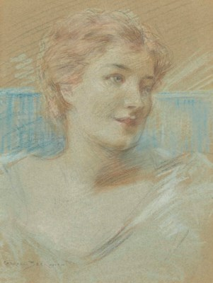 JAMES CARROLL BECKWITH (1852-1