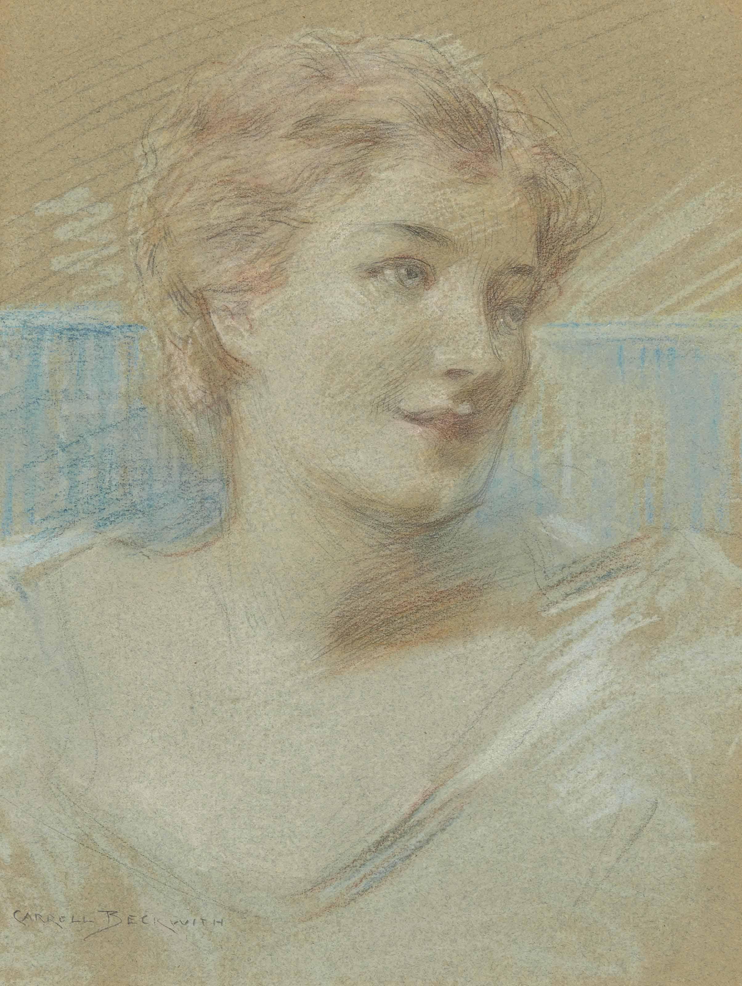 Portrait d'élégante