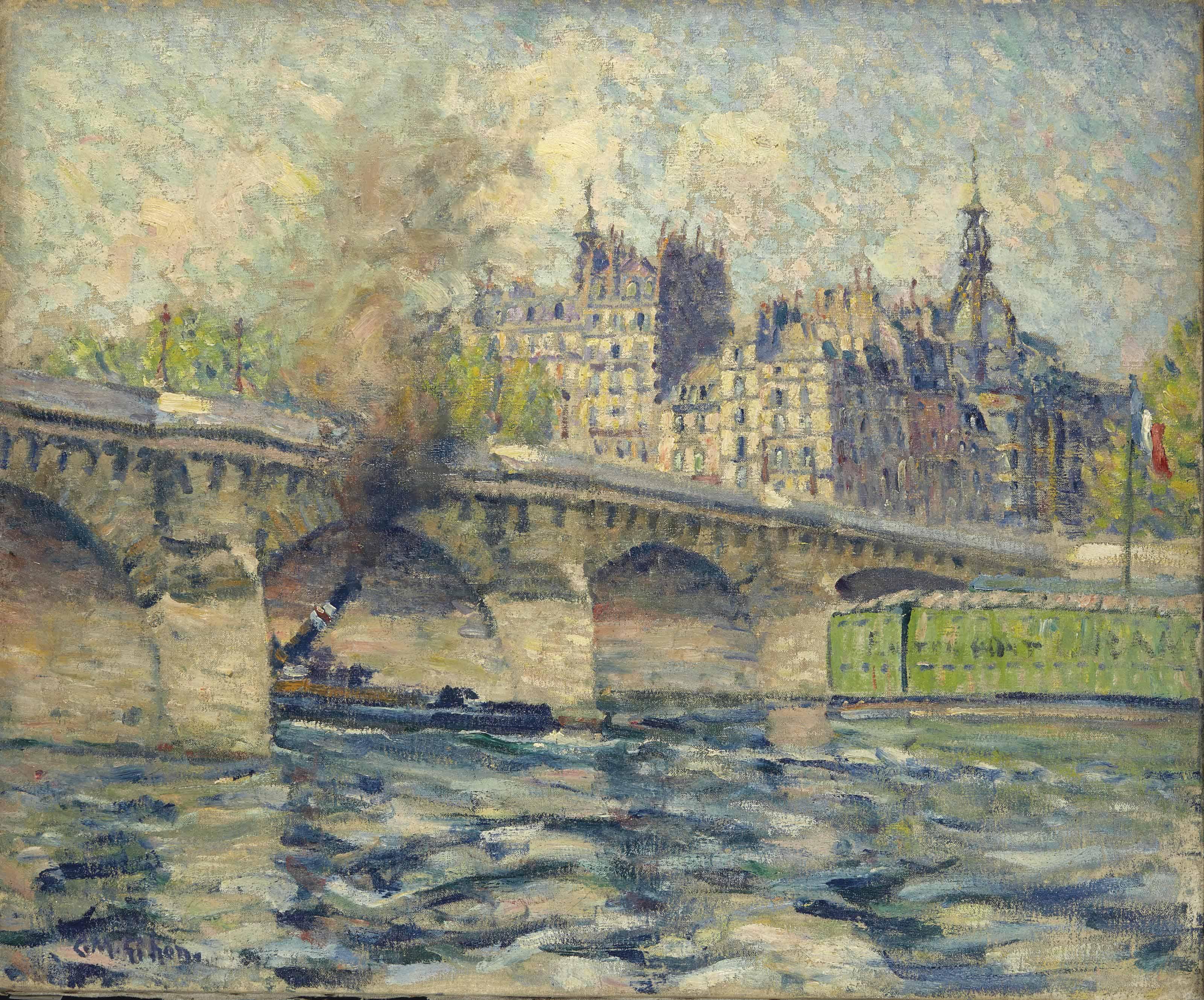 CLARENCE MONTFORT GIHON (1871-