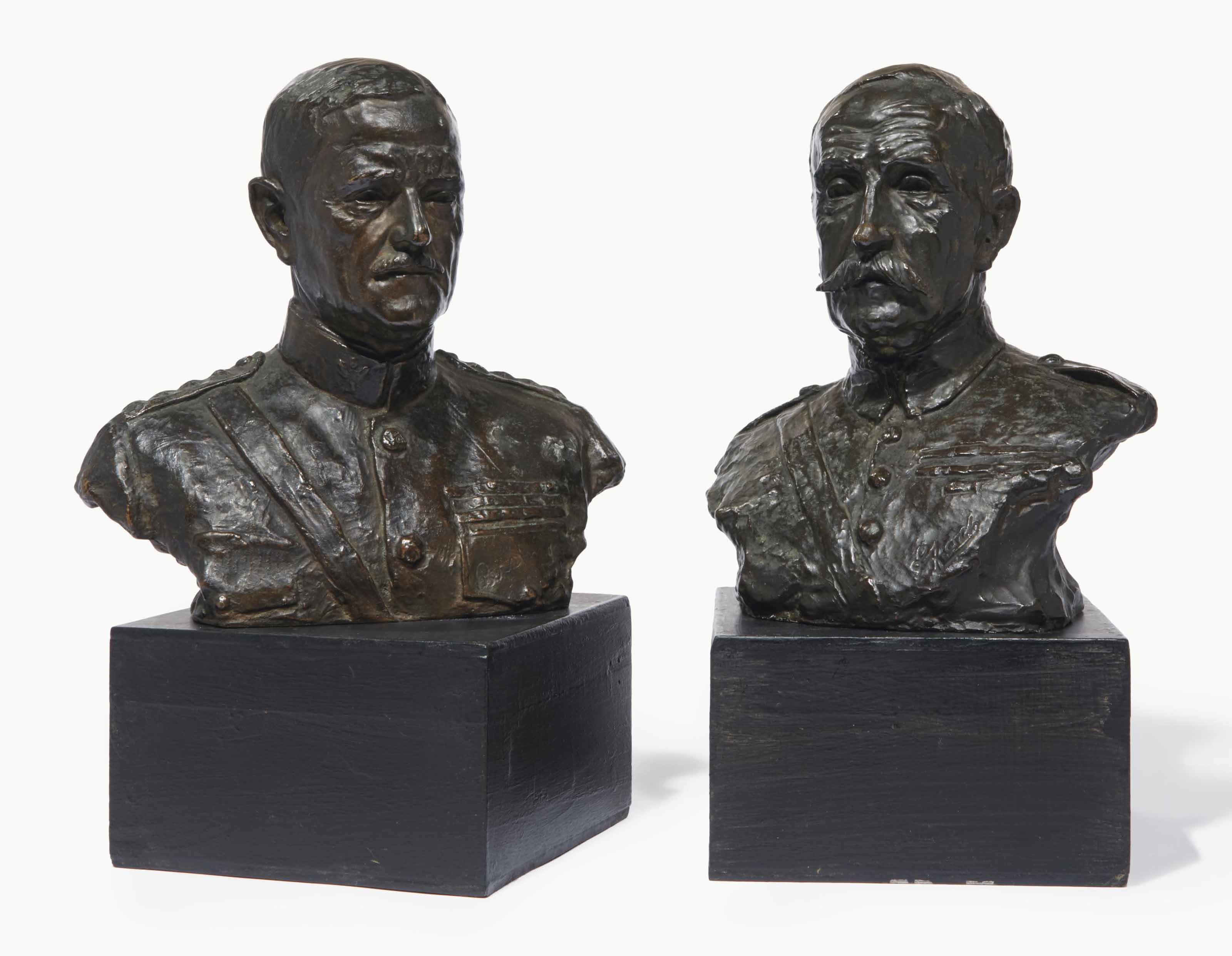 Maréchal de France, Ferdinand Foch; John J. Pershing