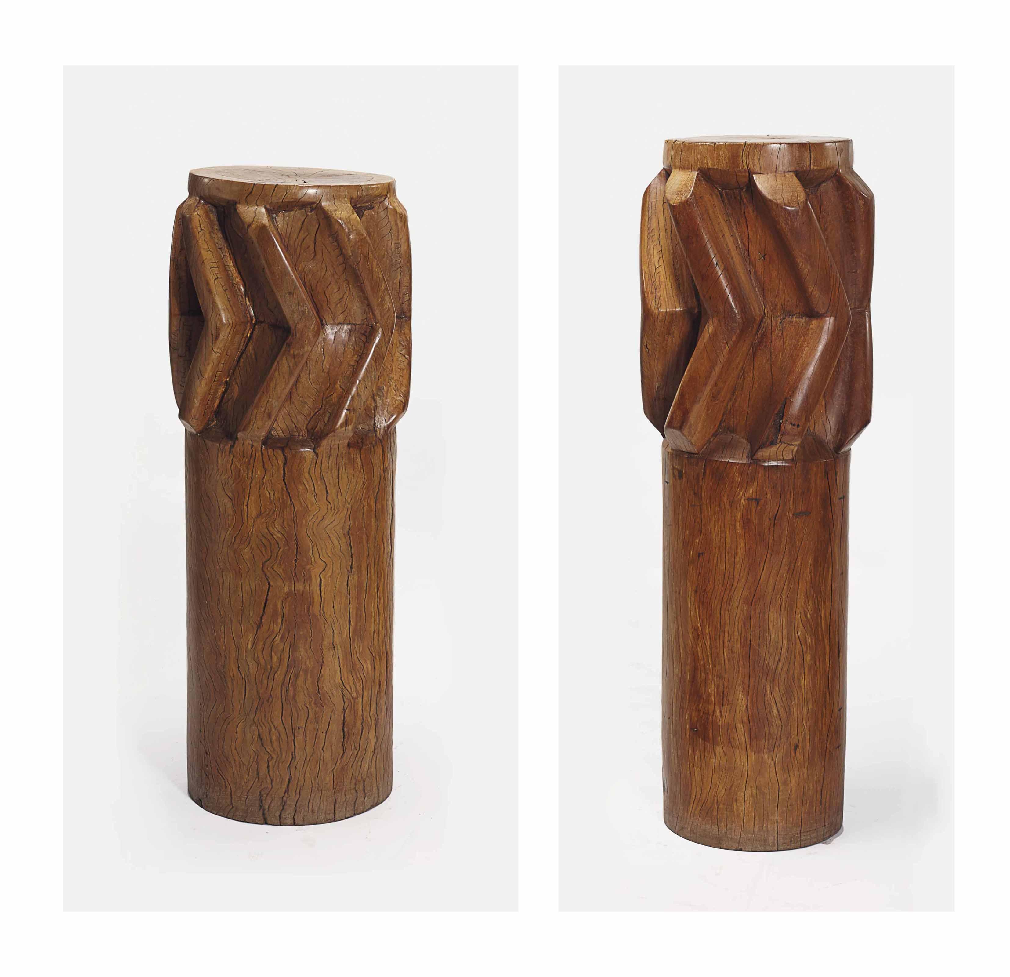 32 cm Ronde en Bois Display Socle//Base Diamètre haut