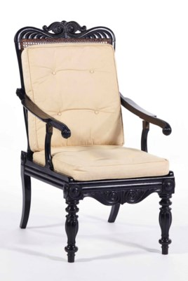 CHAISE LONGUE ANGLO-INDIEN DU