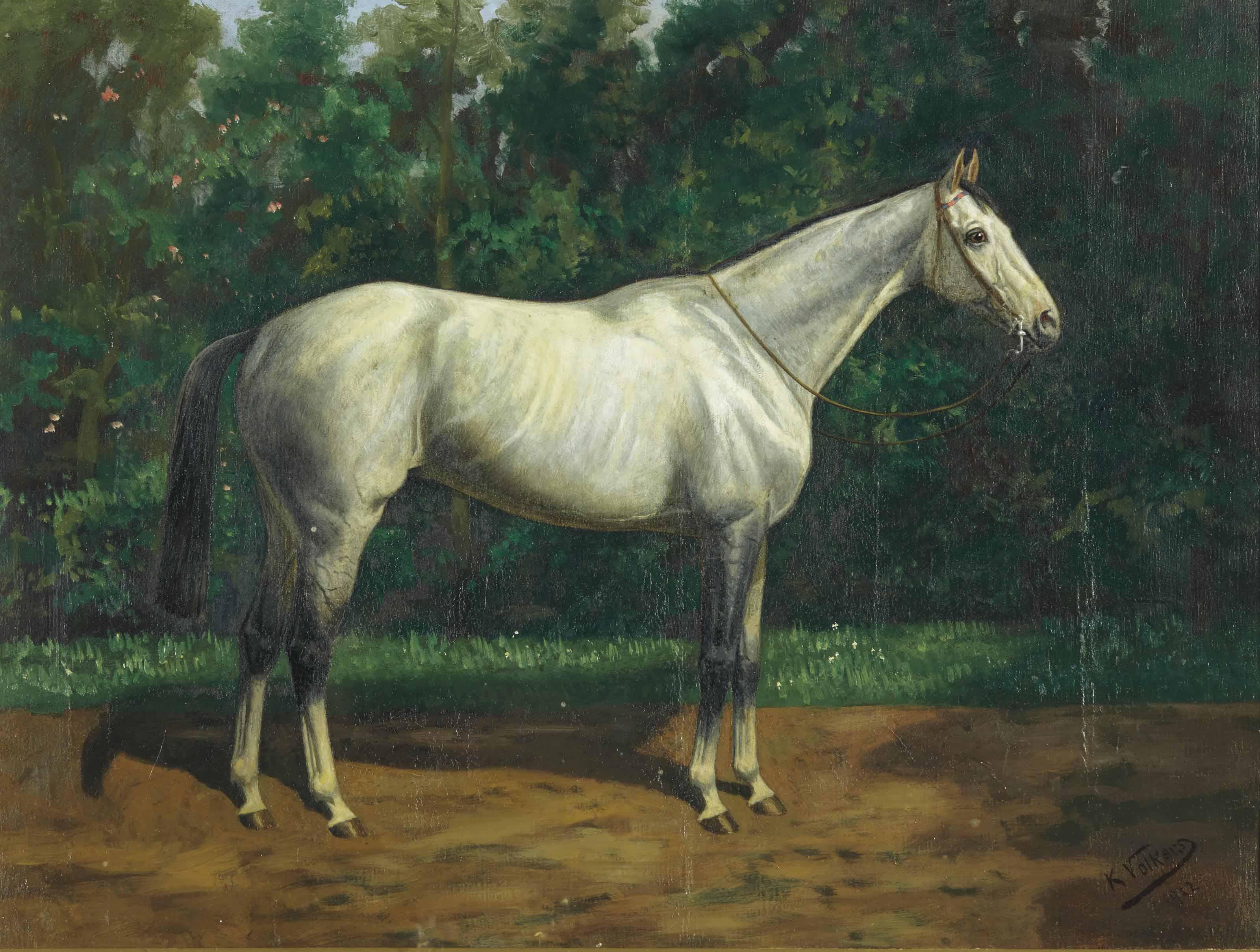 Deux chevaux : Palospavos ; et Pretal