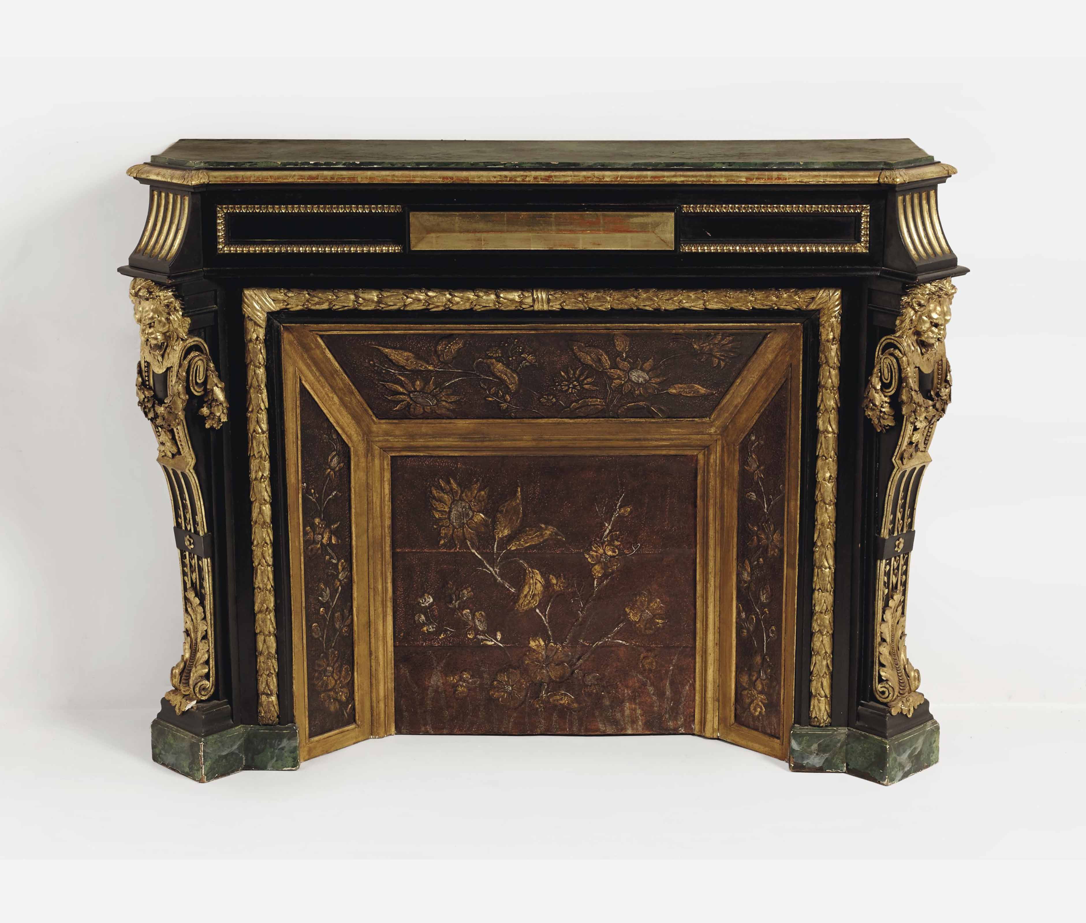 console a l 39 imitation d 39 une cheminee de style napoleon iii christie 39 s. Black Bedroom Furniture Sets. Home Design Ideas