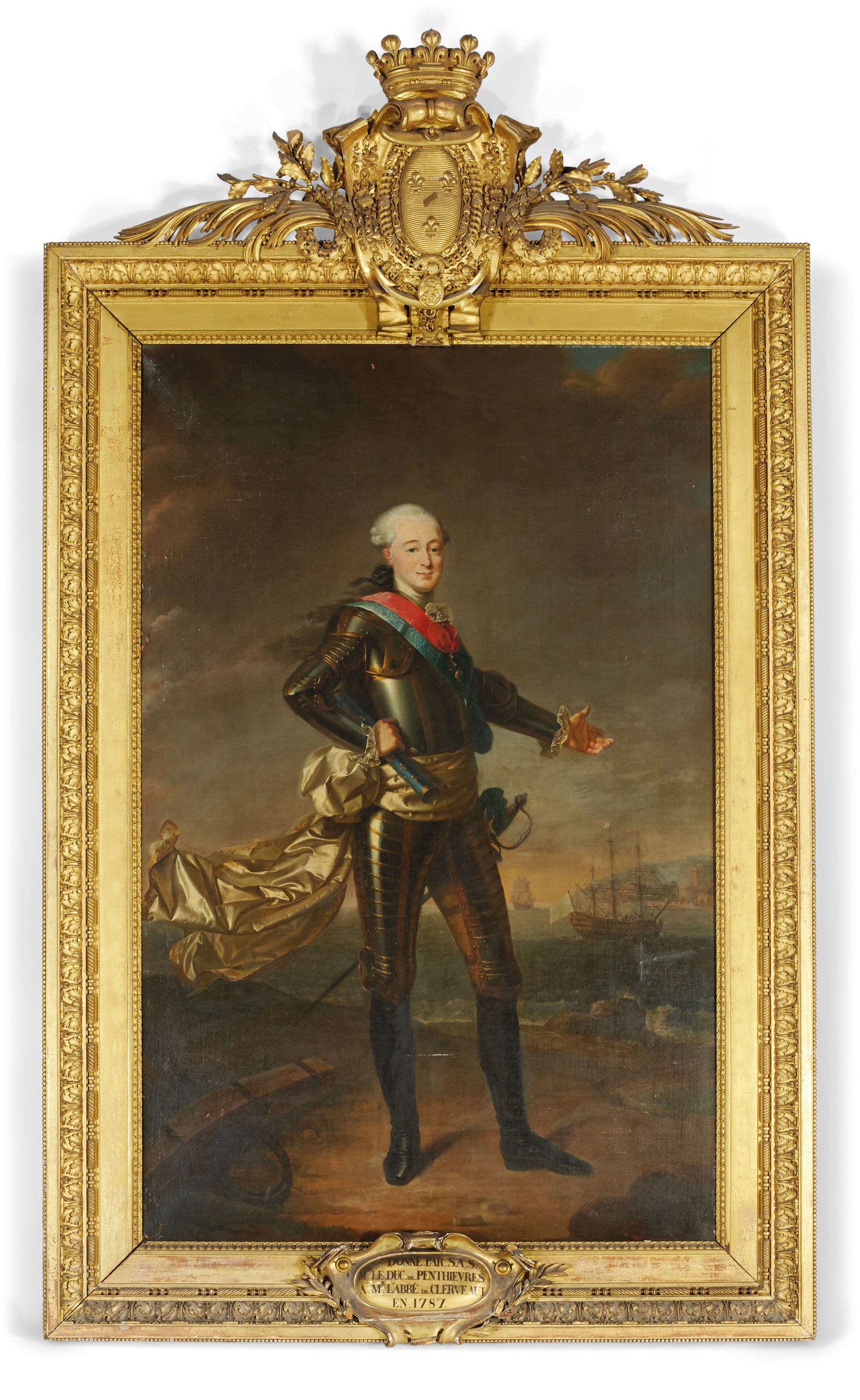 Portrait de Louis-Jean-Marie de Bourbon, duc de Penthièvre (1725-1793)