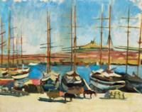 Notre-Dame de la Garde et le vieux port, Marseille