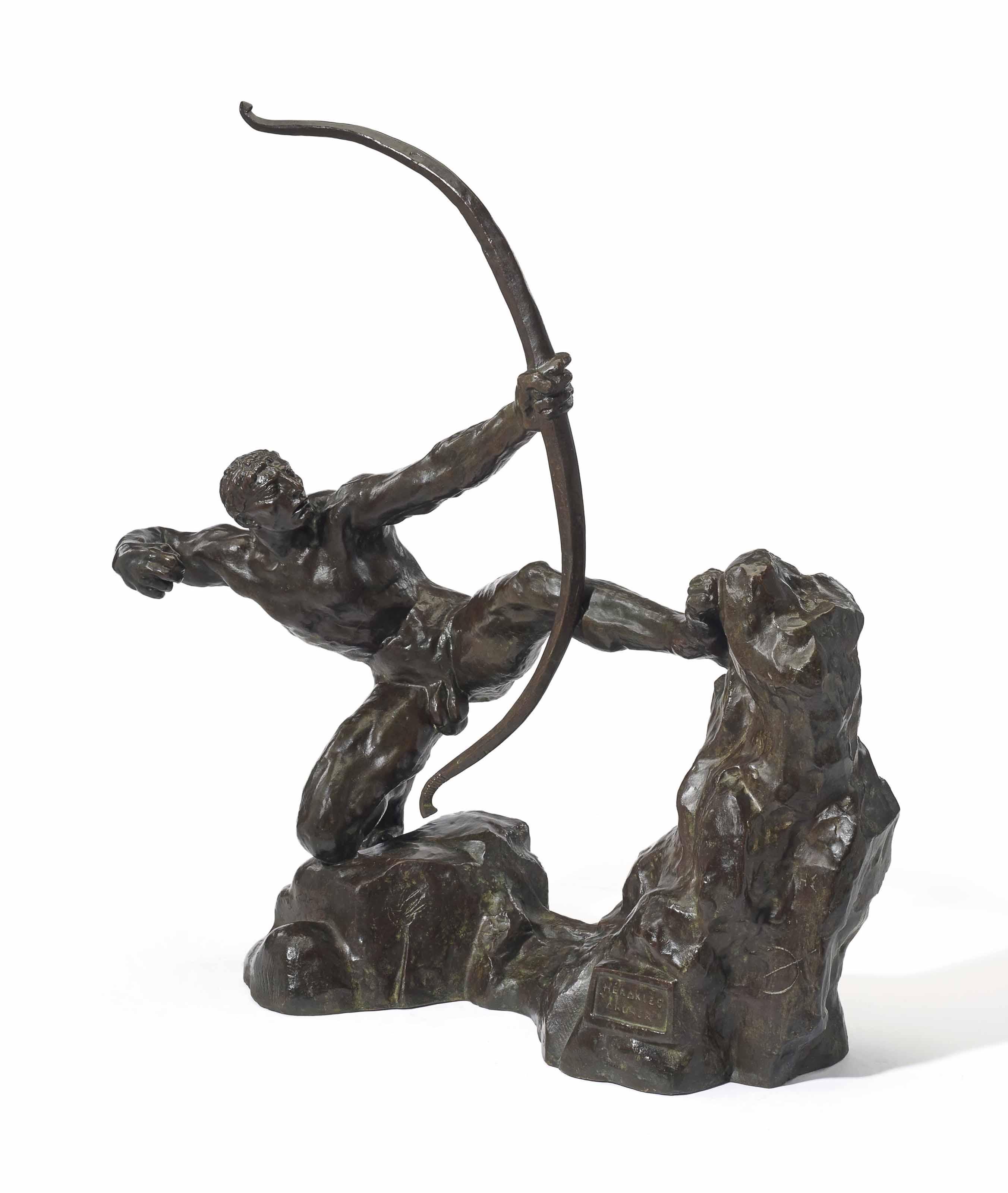"""Héraklès archer, huitième étude dite """"modèle intermédiaire définitif"""""""