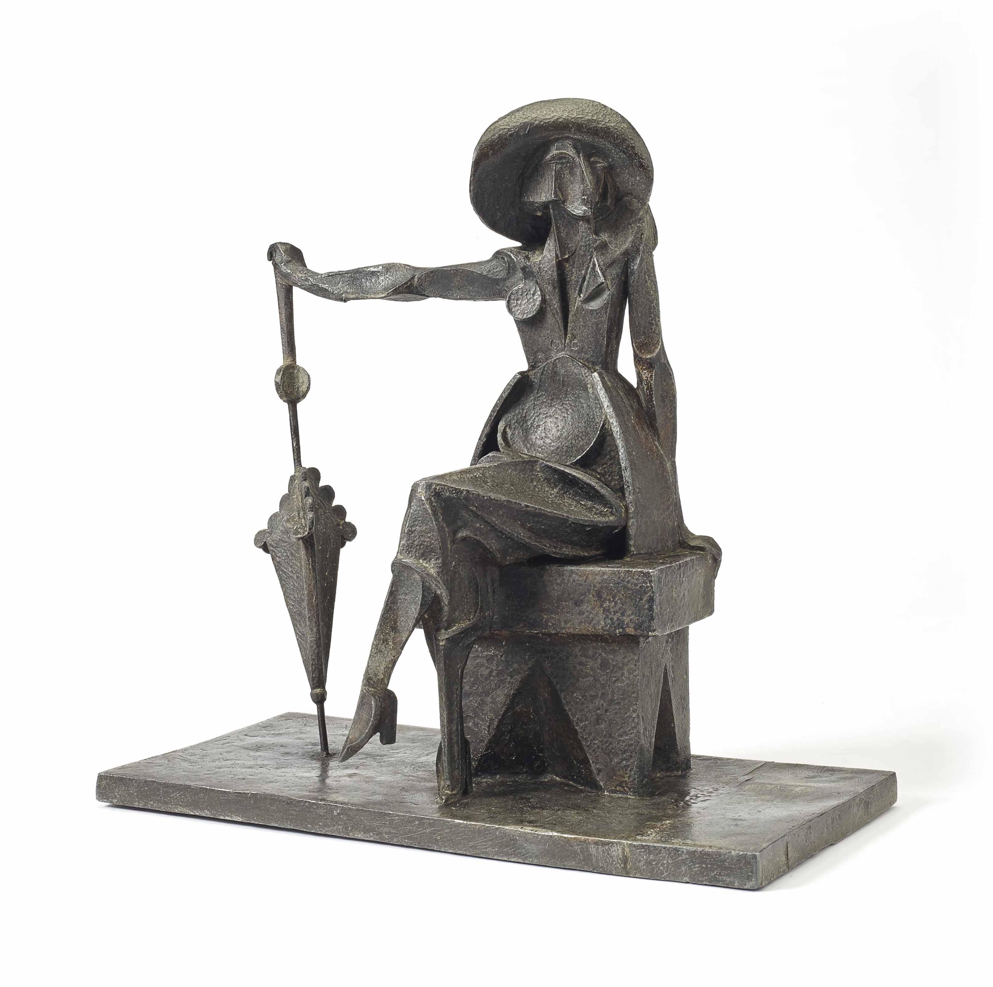 Mujer con sombrilla (Femme à l'ombrelle)