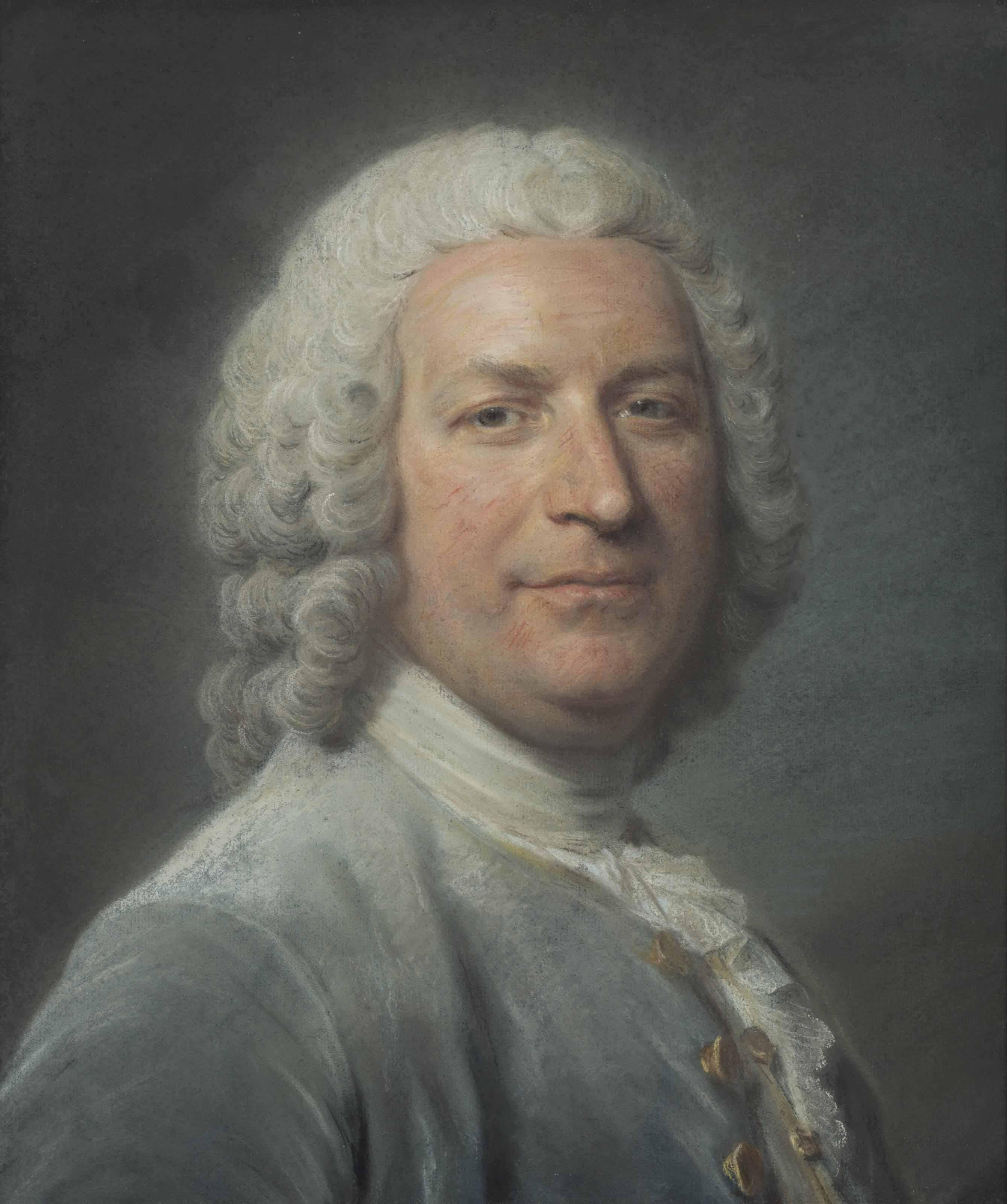 Portrait de Pierre-Claude Nivelle de la Chaussée