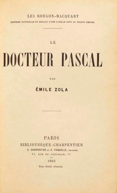 Émile ZOLA (1840-1902). Le Doc