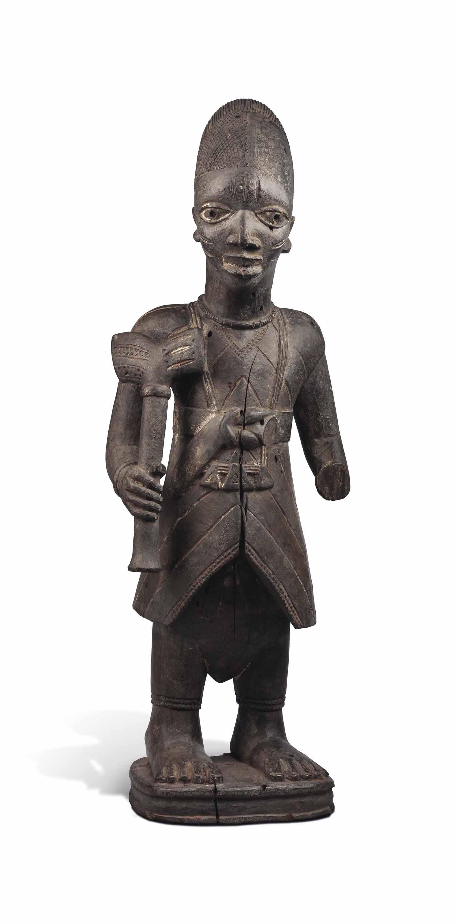 Statue Yorouba Yoruba figure