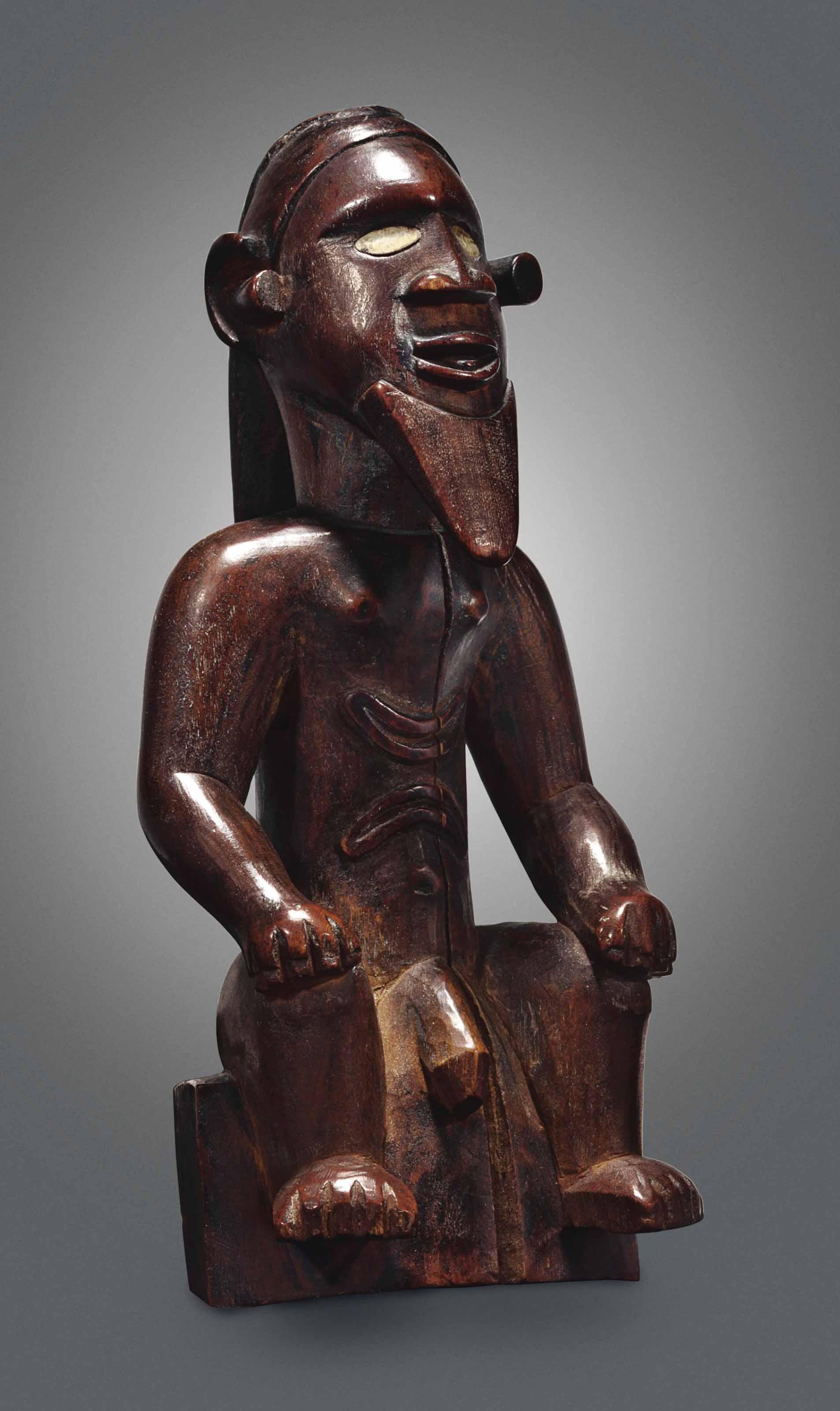 Statuette assise Bembé Bembe S