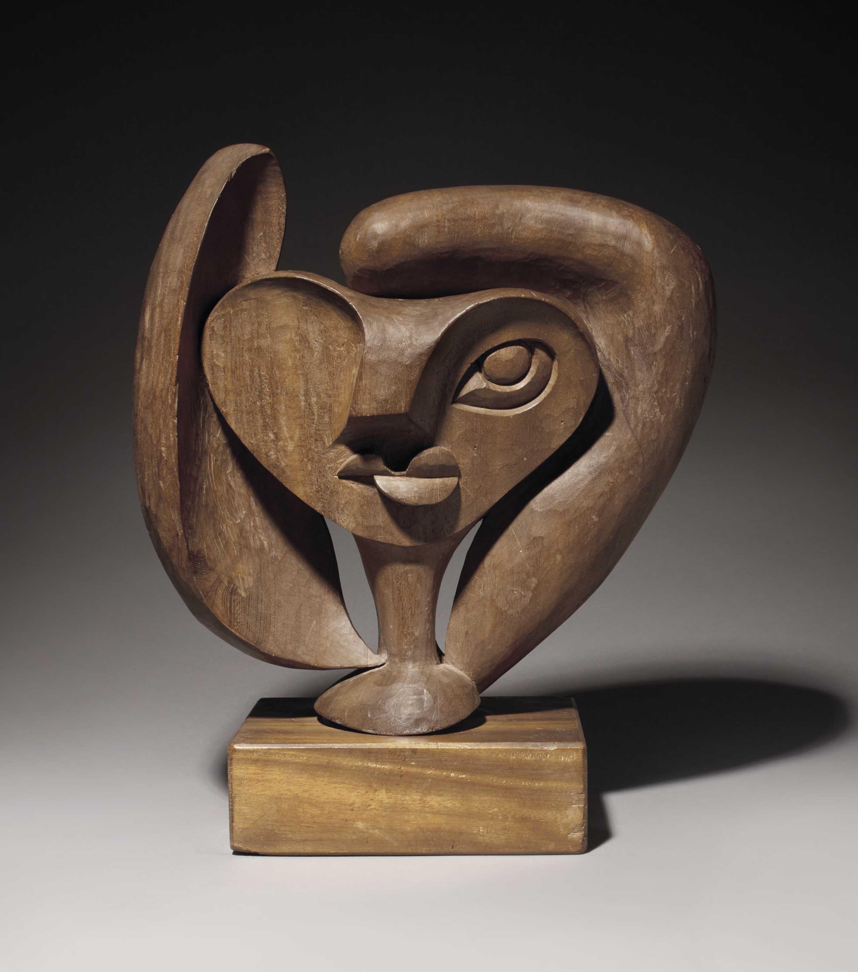 """Étude de tête pour """"La Sculpture Femme"""", 3e recherche"""