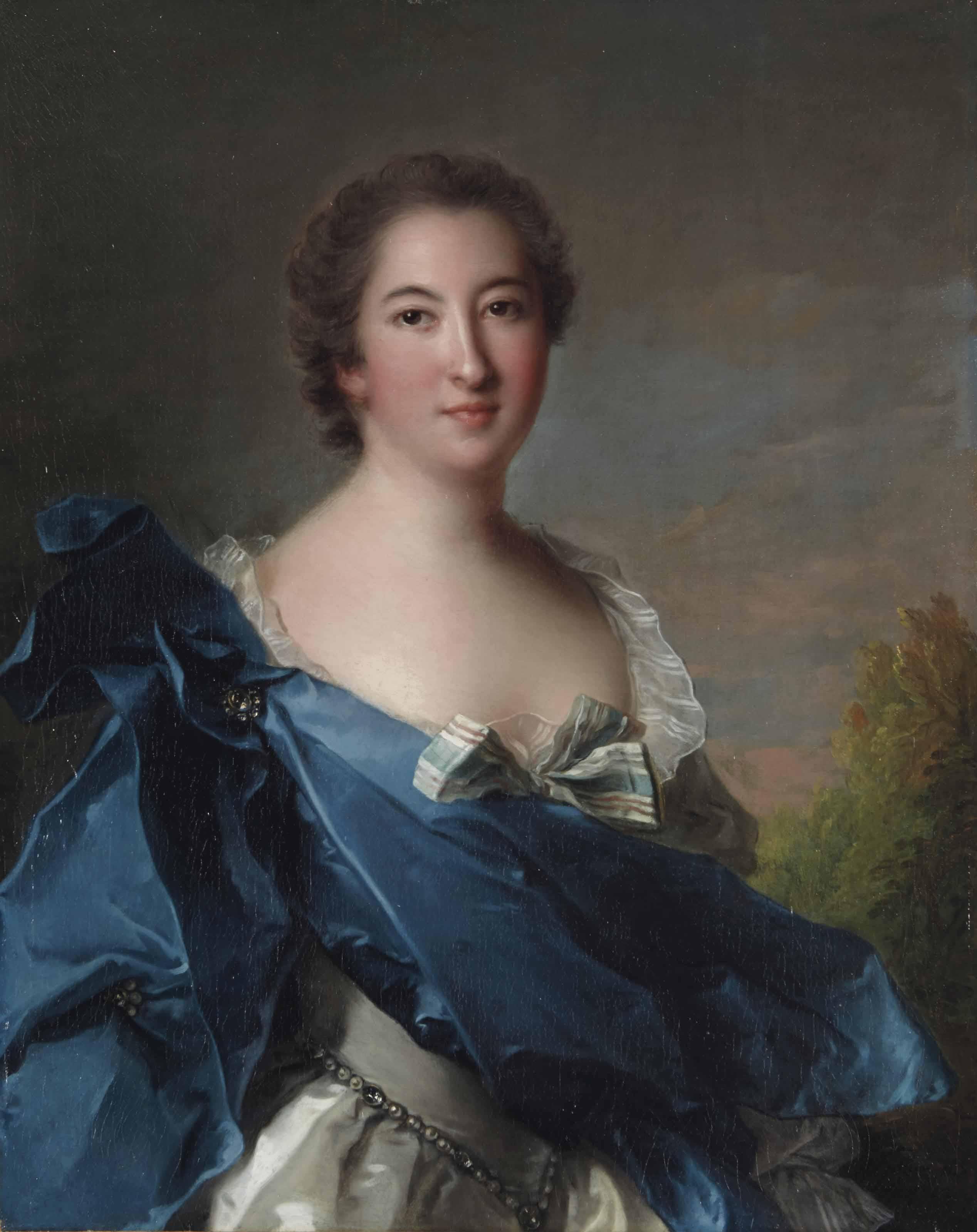 Portrait de la marquise de Clermont Gallerande