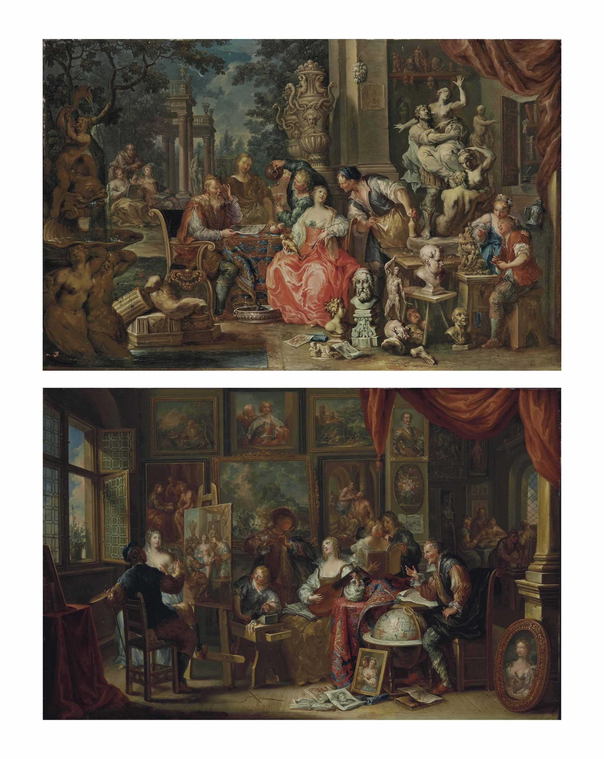 L'Atelier du peintre ; et L'Atelier du sculpteur
