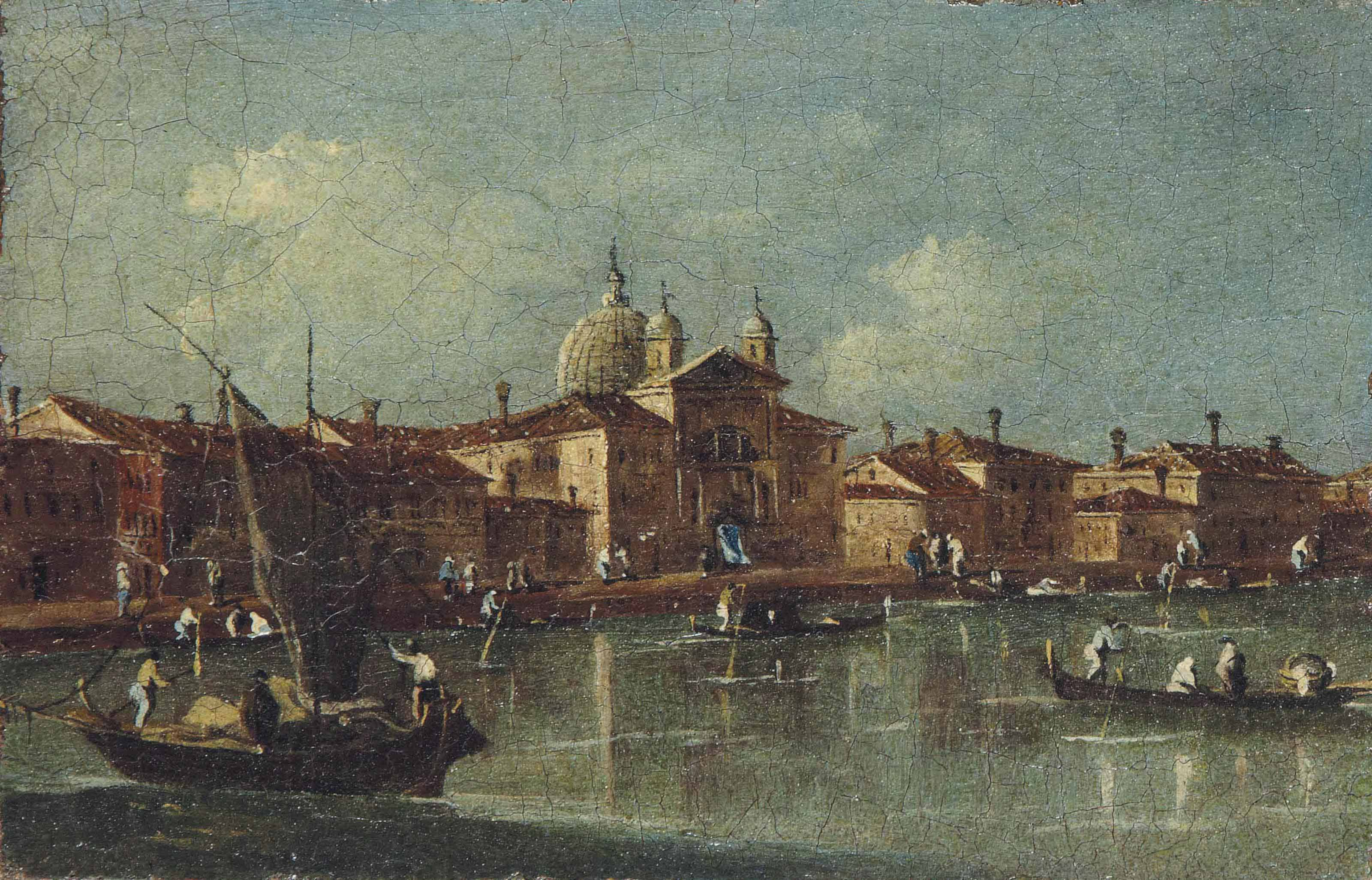 GIACOMO GUARDI (VENISE 1764-1835)