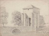 Vue d'un pont avec une tour
