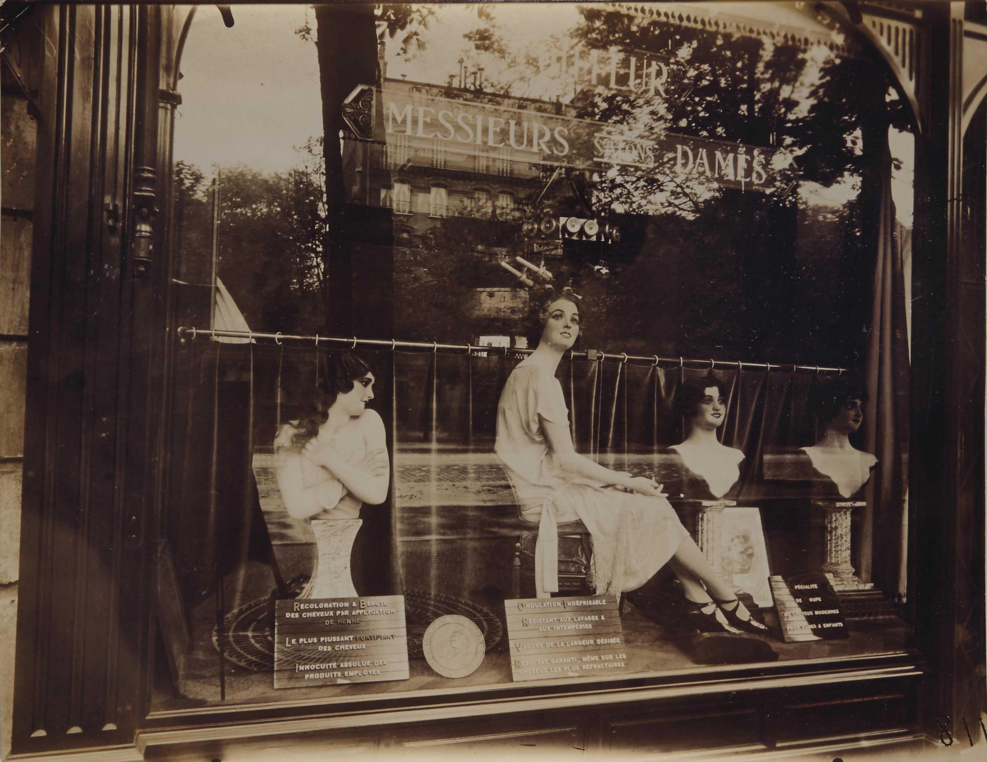 Coiffeur, Avenue de l'Observatoire, Paris, 1926