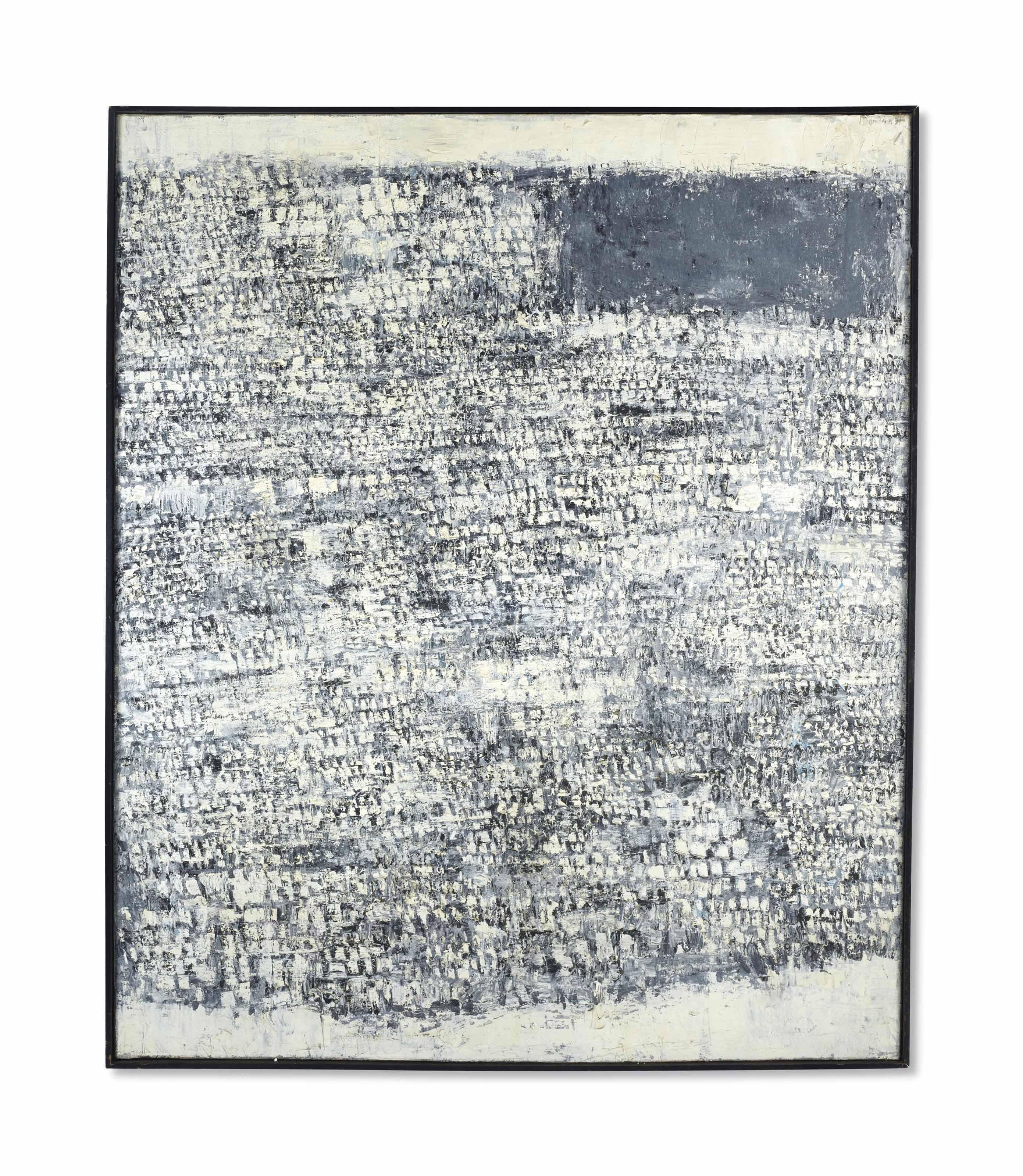 Composition grise et blanche