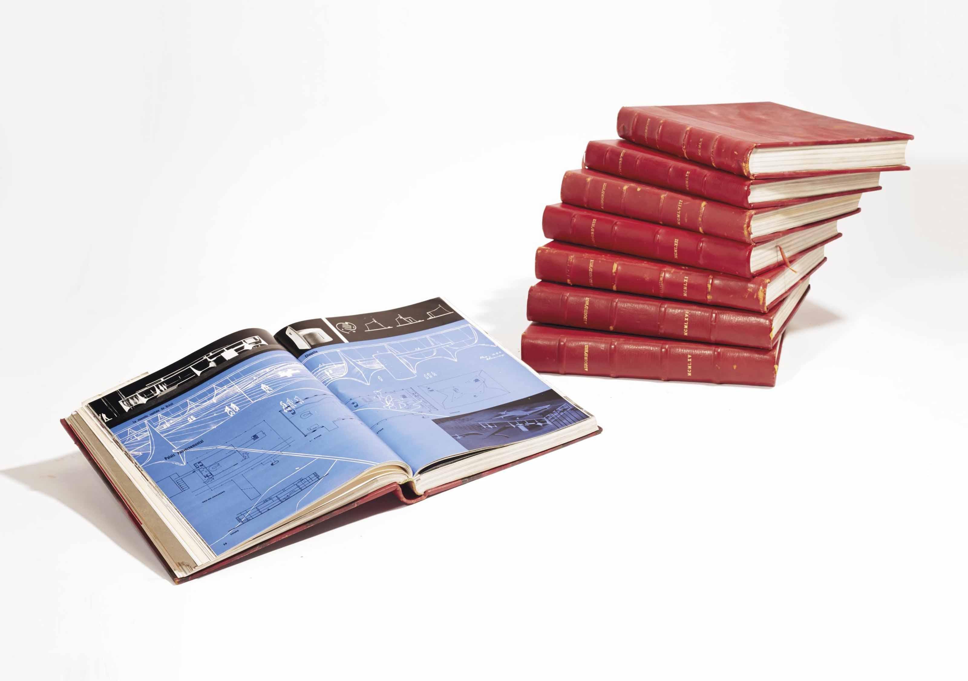 Aujourd 39 hui art et architecture ensemble de revues du n for Art et architecture