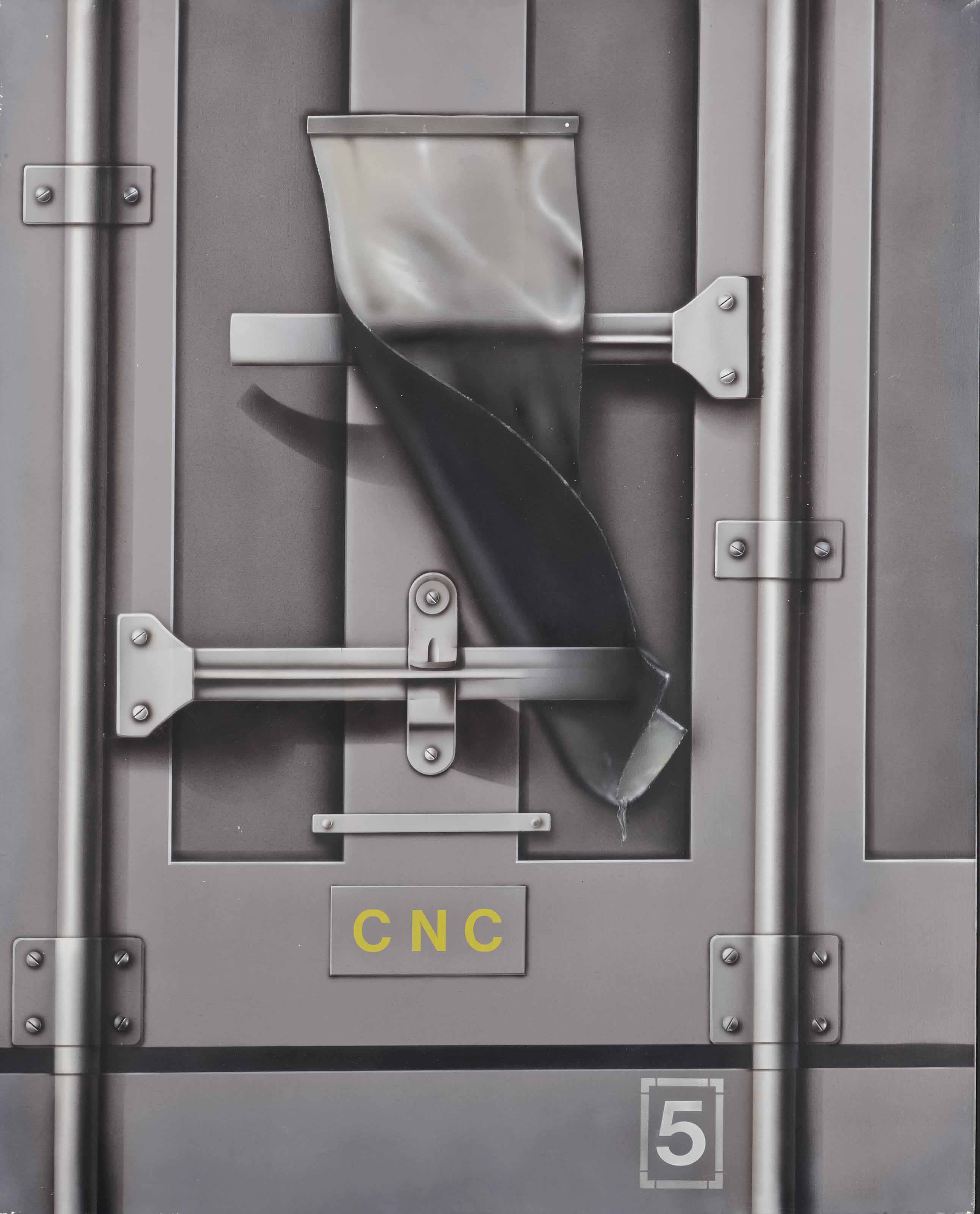 Container gris