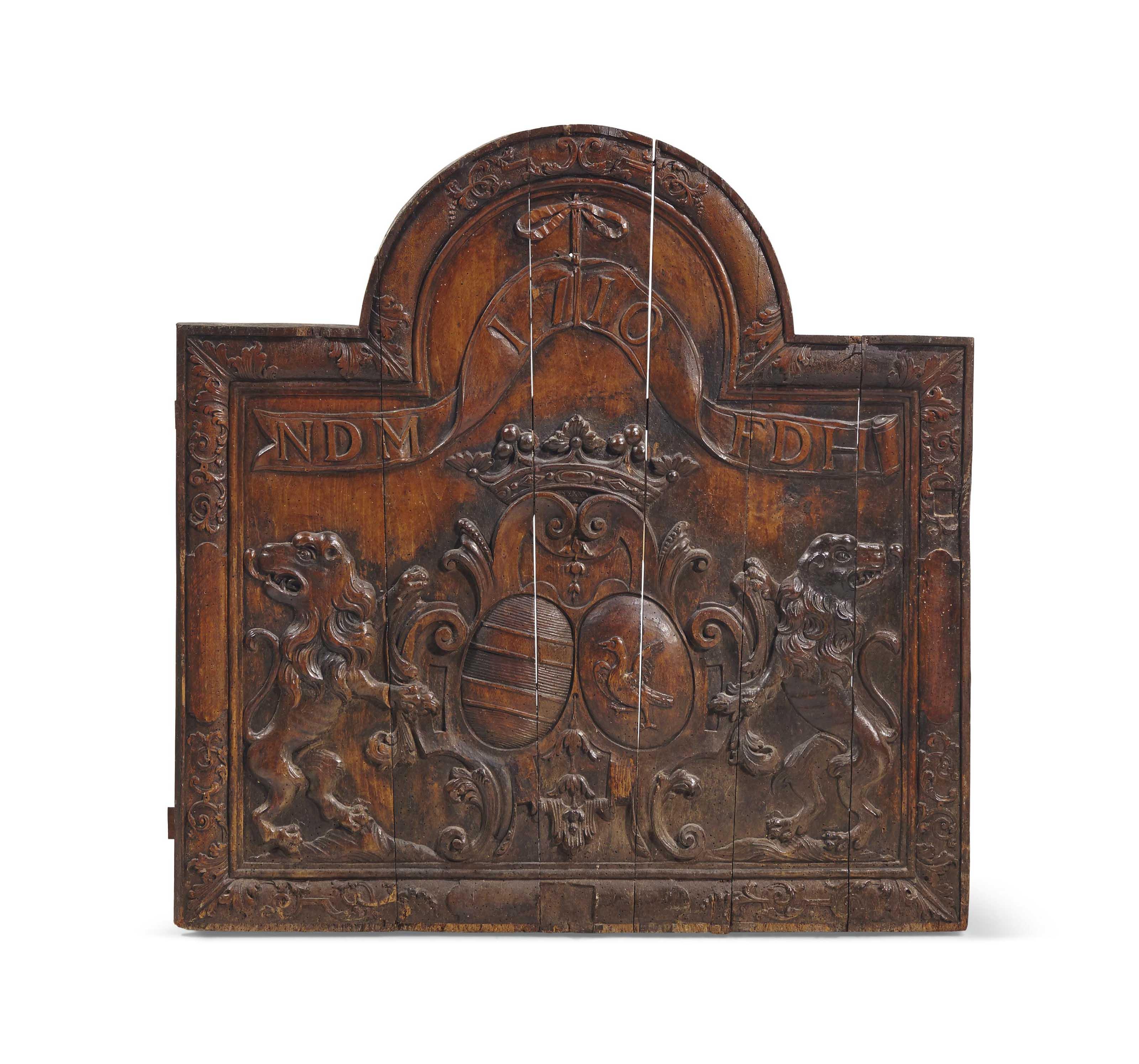 Matrice Pour Plaque De Cheminee France 1710 Sculptures Statues Figures Wood Christie S