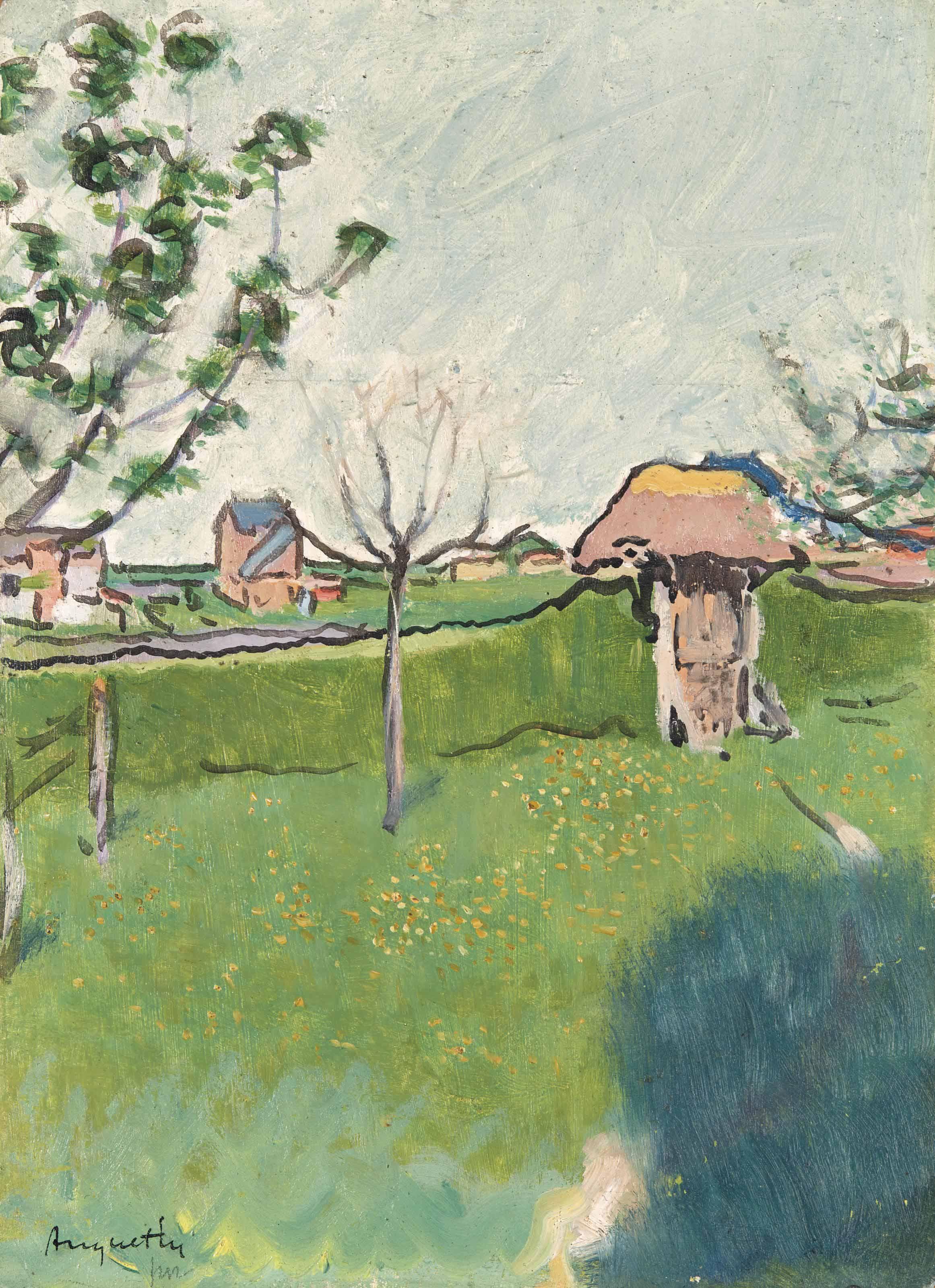 Jardin dans les environs de Gisors