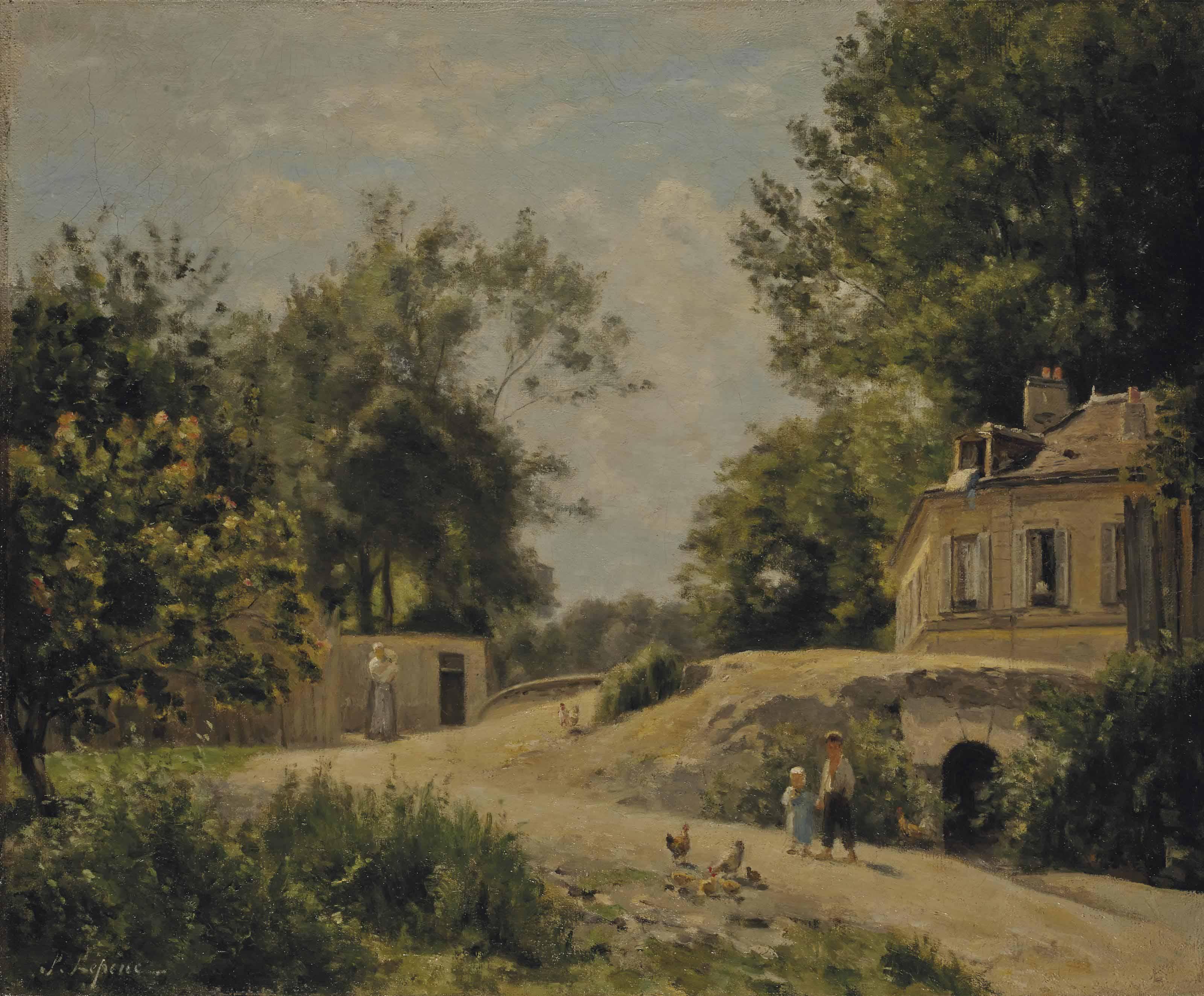 STANISLAS LÉPINE (CAEN 1835-18