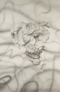 Untitled (Ronald Reagan Crumpled Paper-South America)