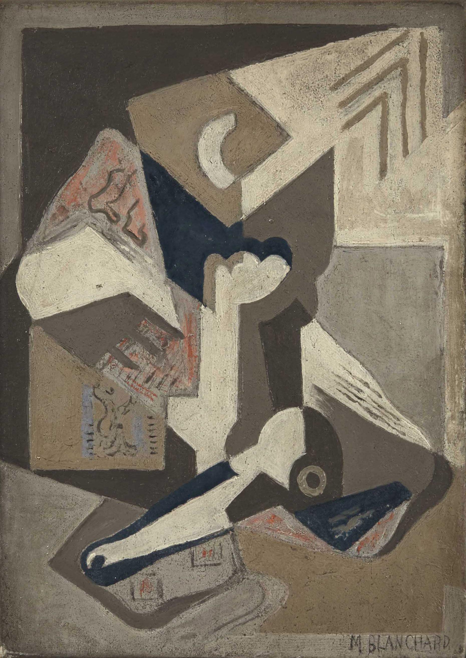 Composition cubiste