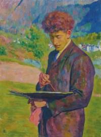 Il pittore (Alberto Giacometti), 1921
