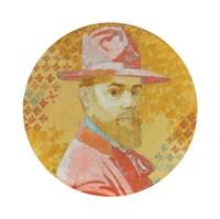 Selbstbildnis mit Hut, 1908