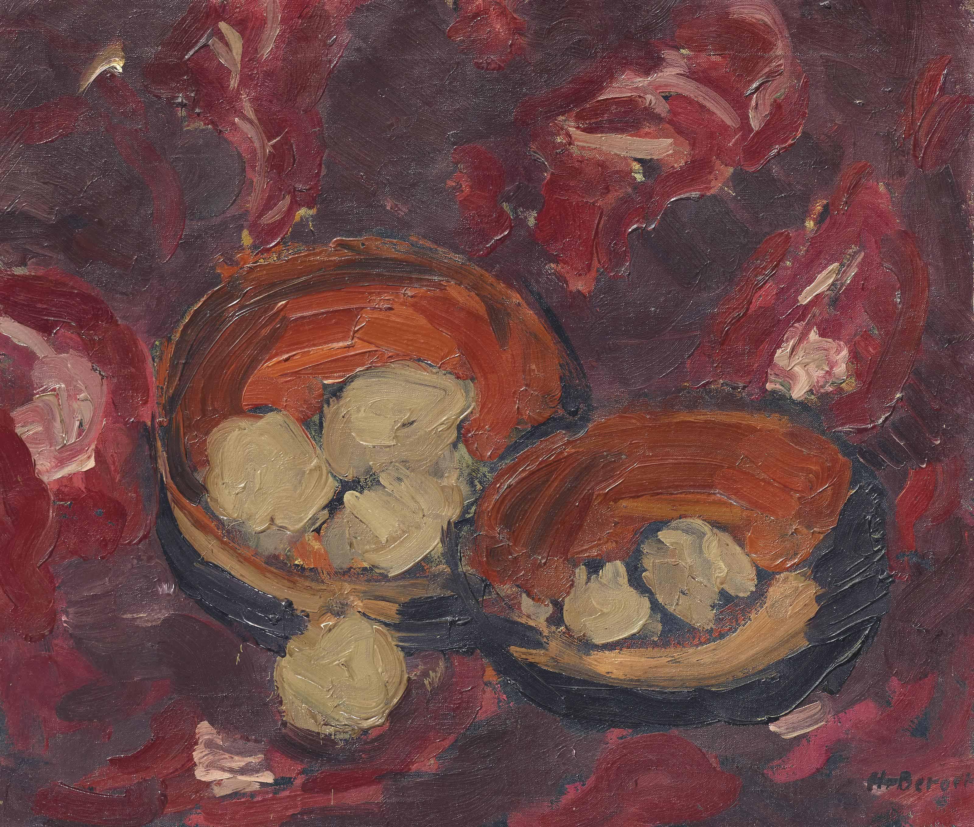 Stillleben mit Kartoffeln, um 1913