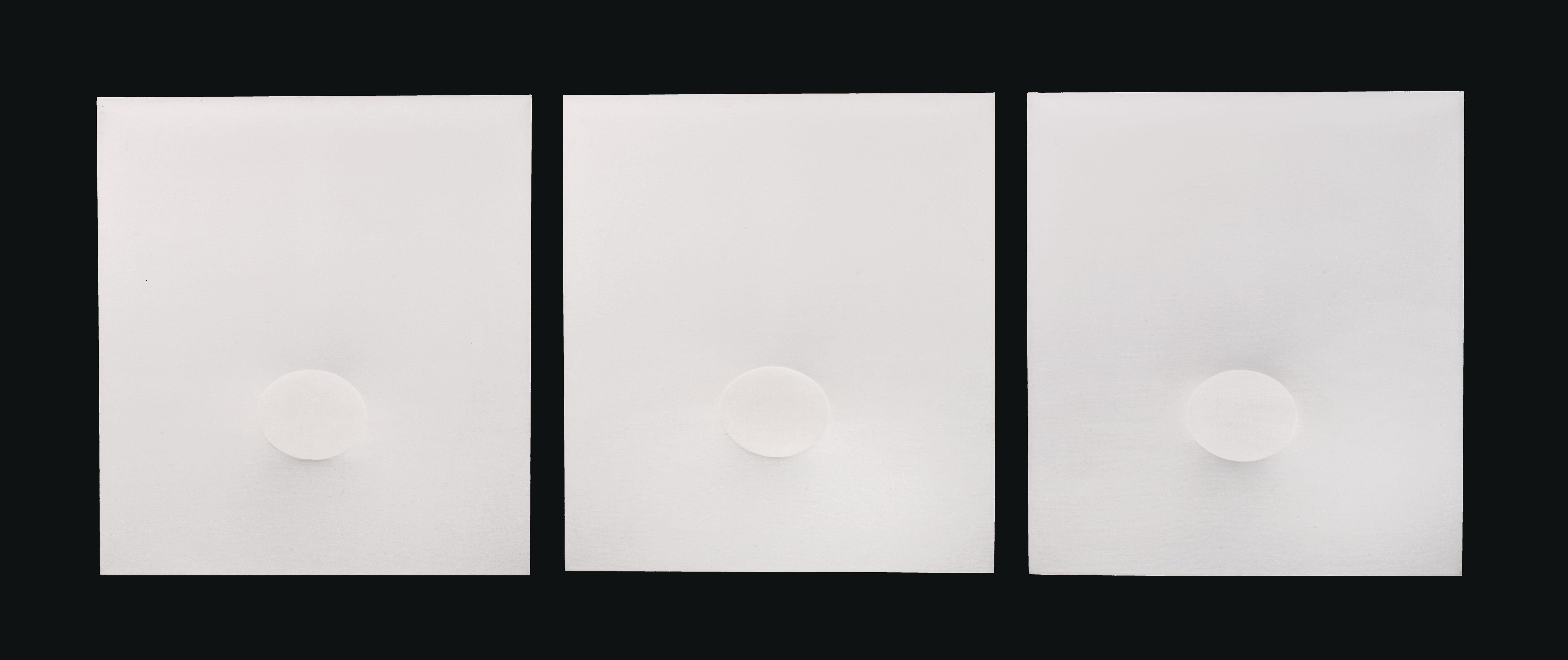 Trittico bianco (White Triptych)