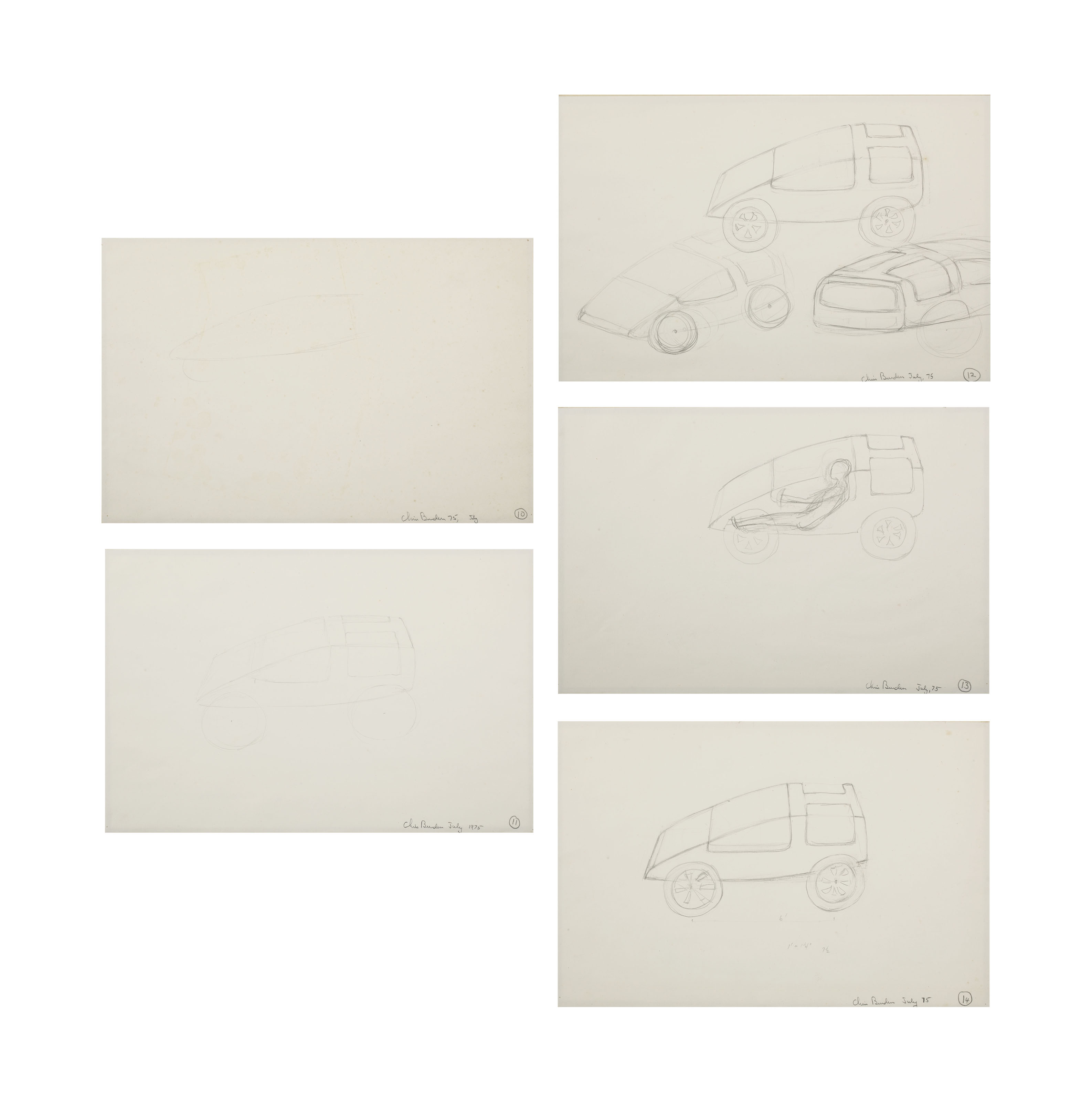 Untitled (Designs for B-Car)