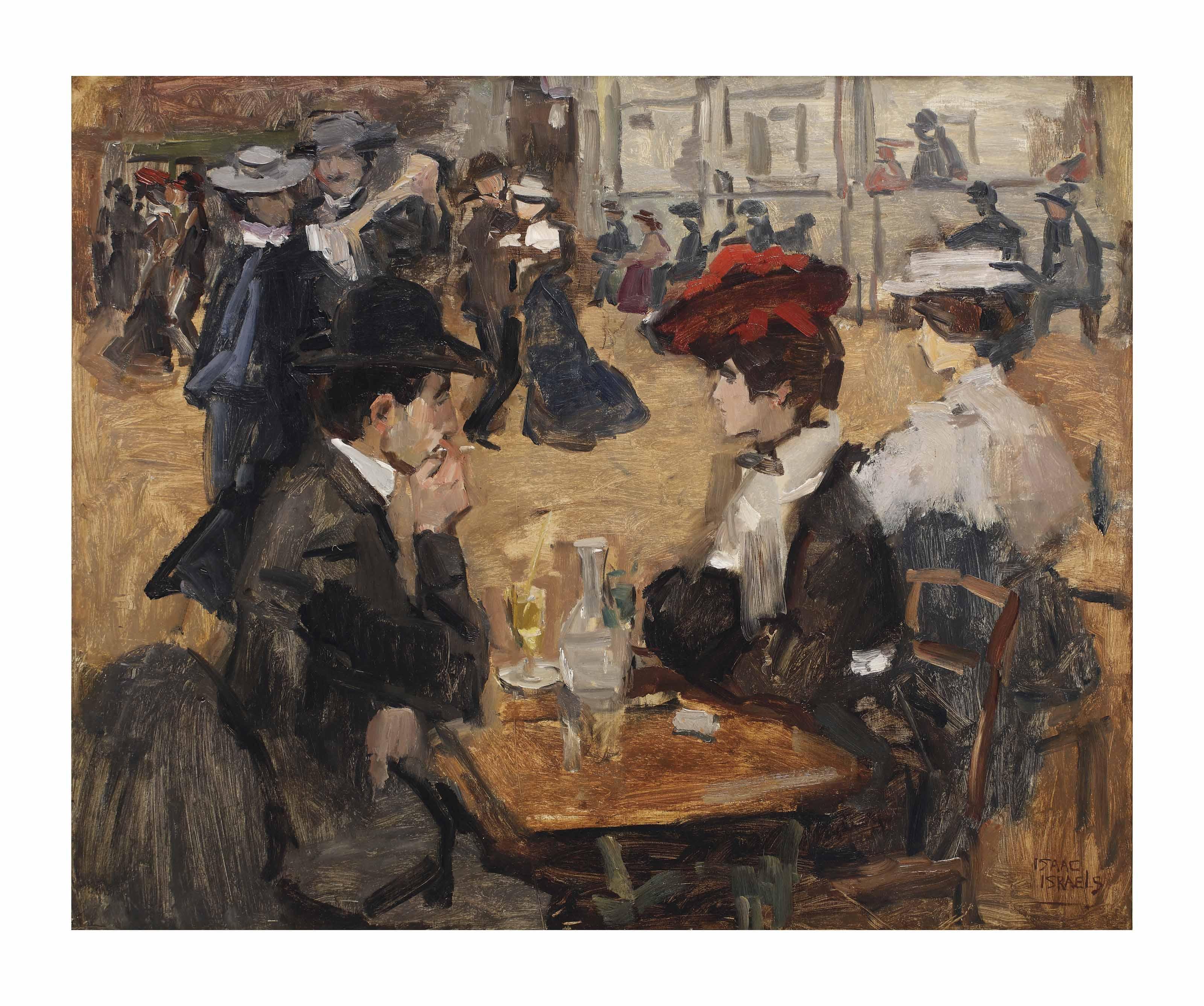 Café dansant, Moulin de la Galette, Paris