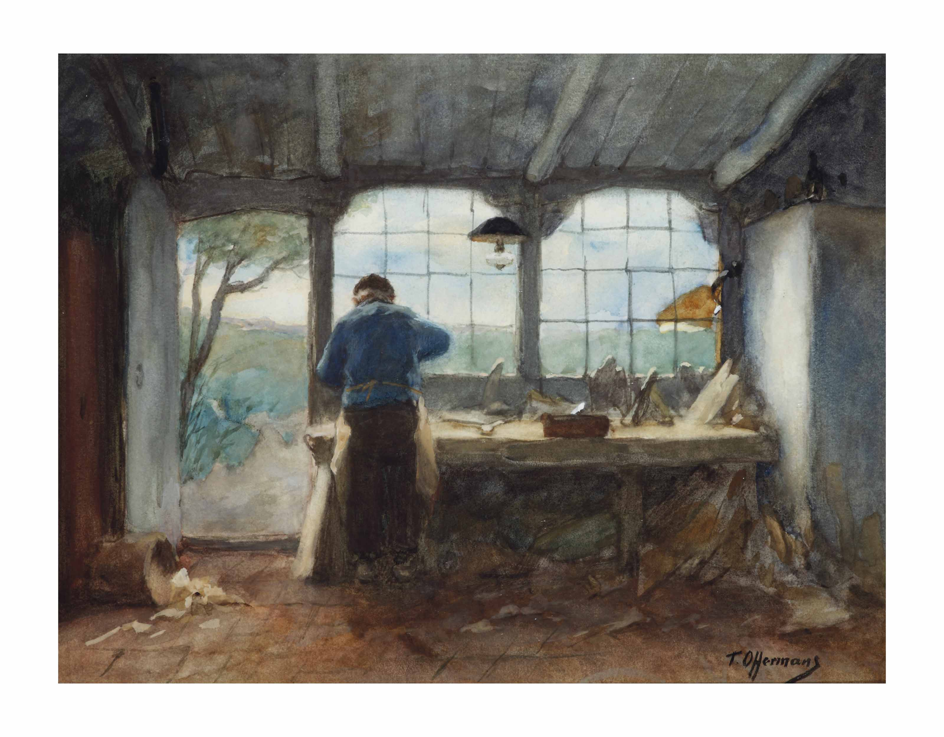 The carpenter's workshop